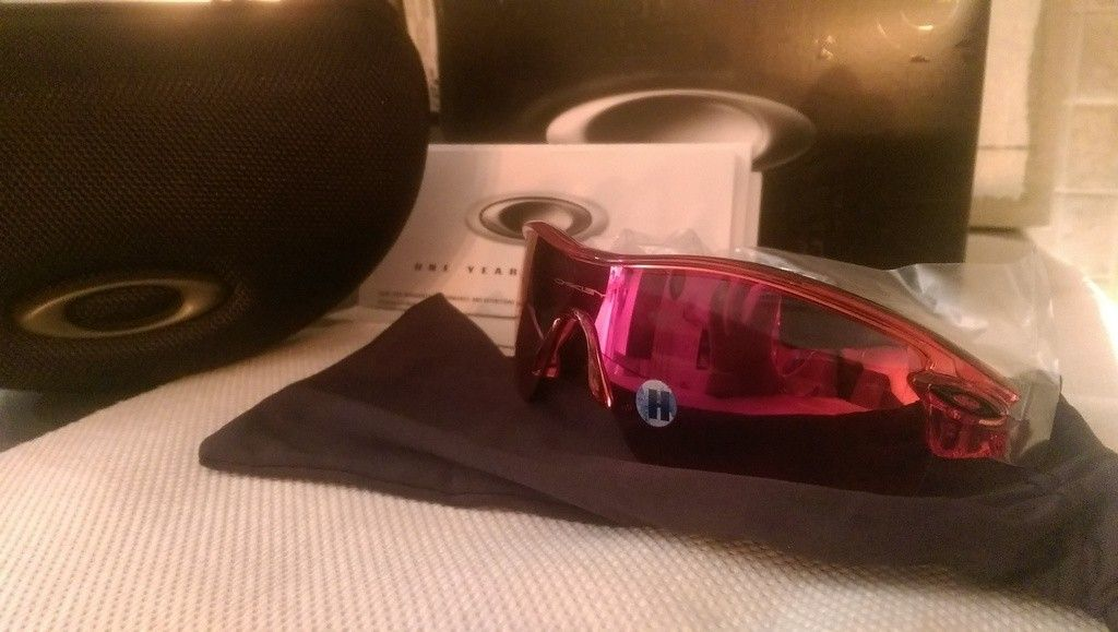 Oakley Radar Path crystal Red with Positive Red iridium sku#09-749 BNIB - IMAG4534_zpsr9r8pctx.jpg