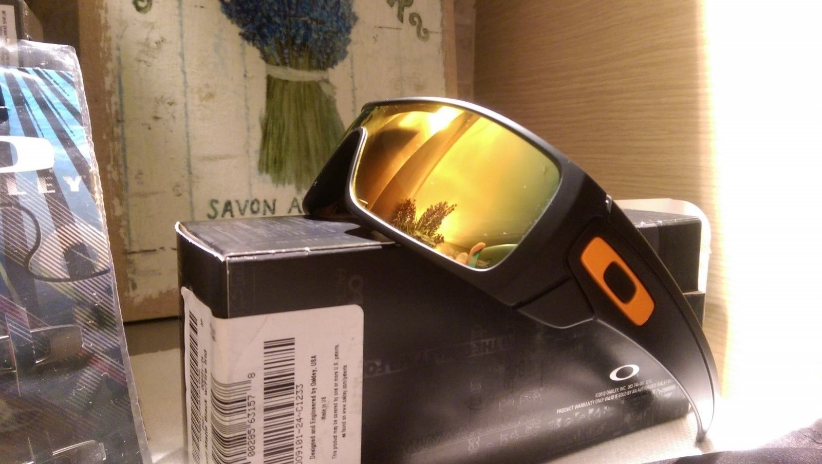 Οakley Batwolf Sunglass Hut SGH Exclusive NEW matte black with Fire iridium Polarized - IMAG5990.jpg