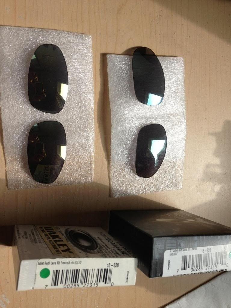 2 Sets Of Juliet Emerald Lenses. BNIB - image-40.jpg
