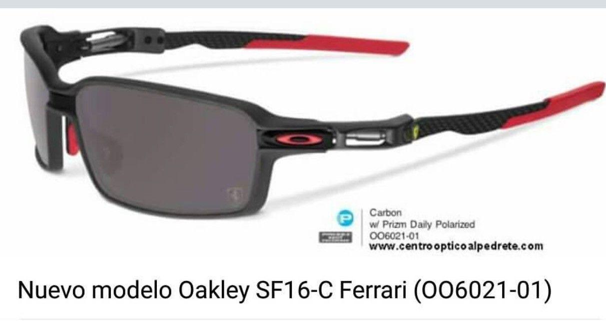 Oakley Ferrari Carbon