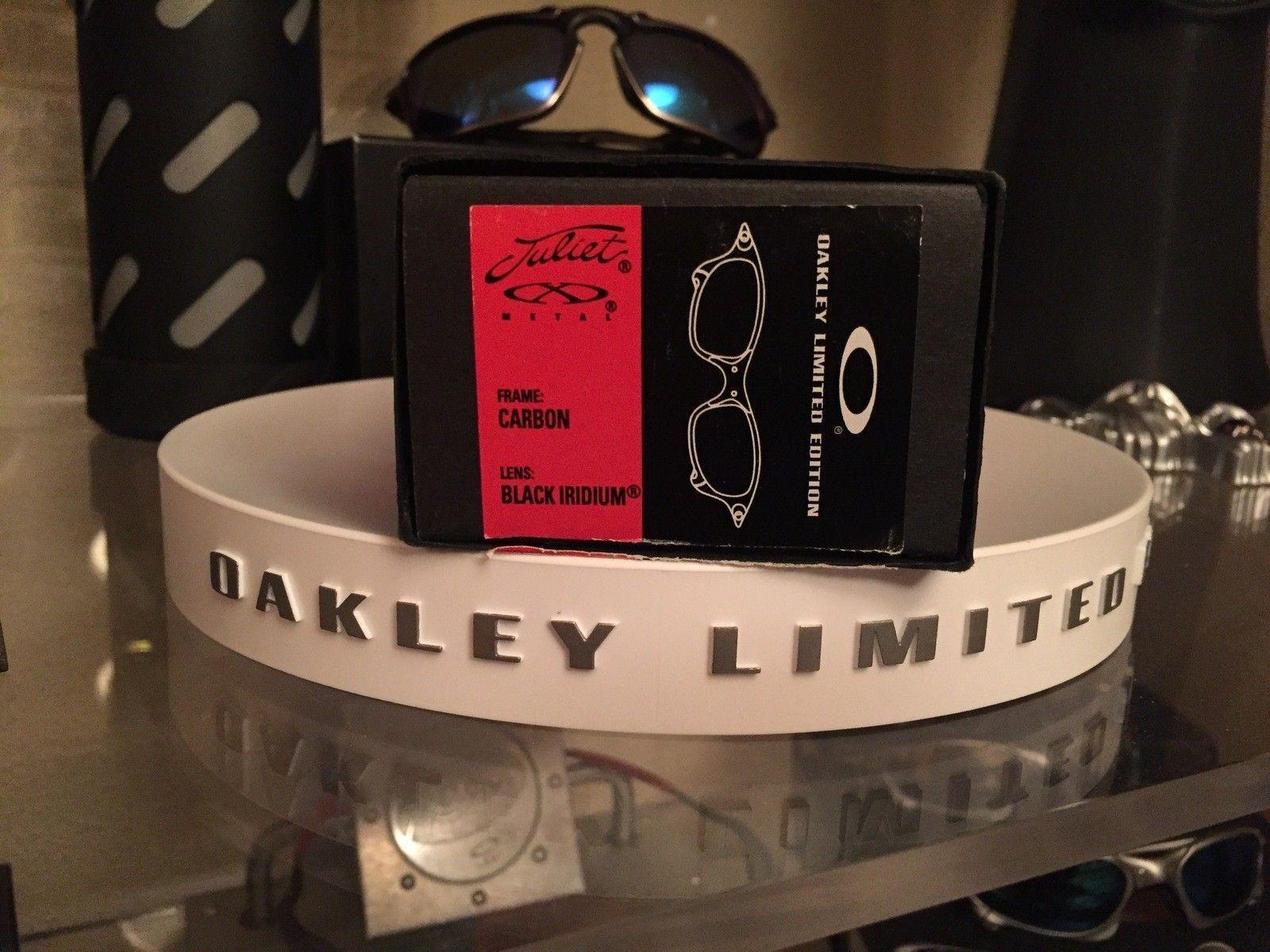 BNIB Juliet Ducati Carbon w/ Black Iridium Límited Edition #SOLD - image.jpeg