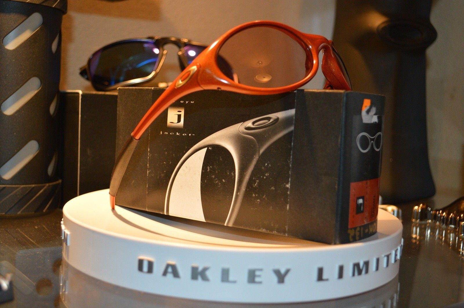 BNIB New Eye Jacket Carmel w/ vr50 & Joker w/ Gold Iridium & Red line w/ Gold Iridium #SOLD - image.jpeg