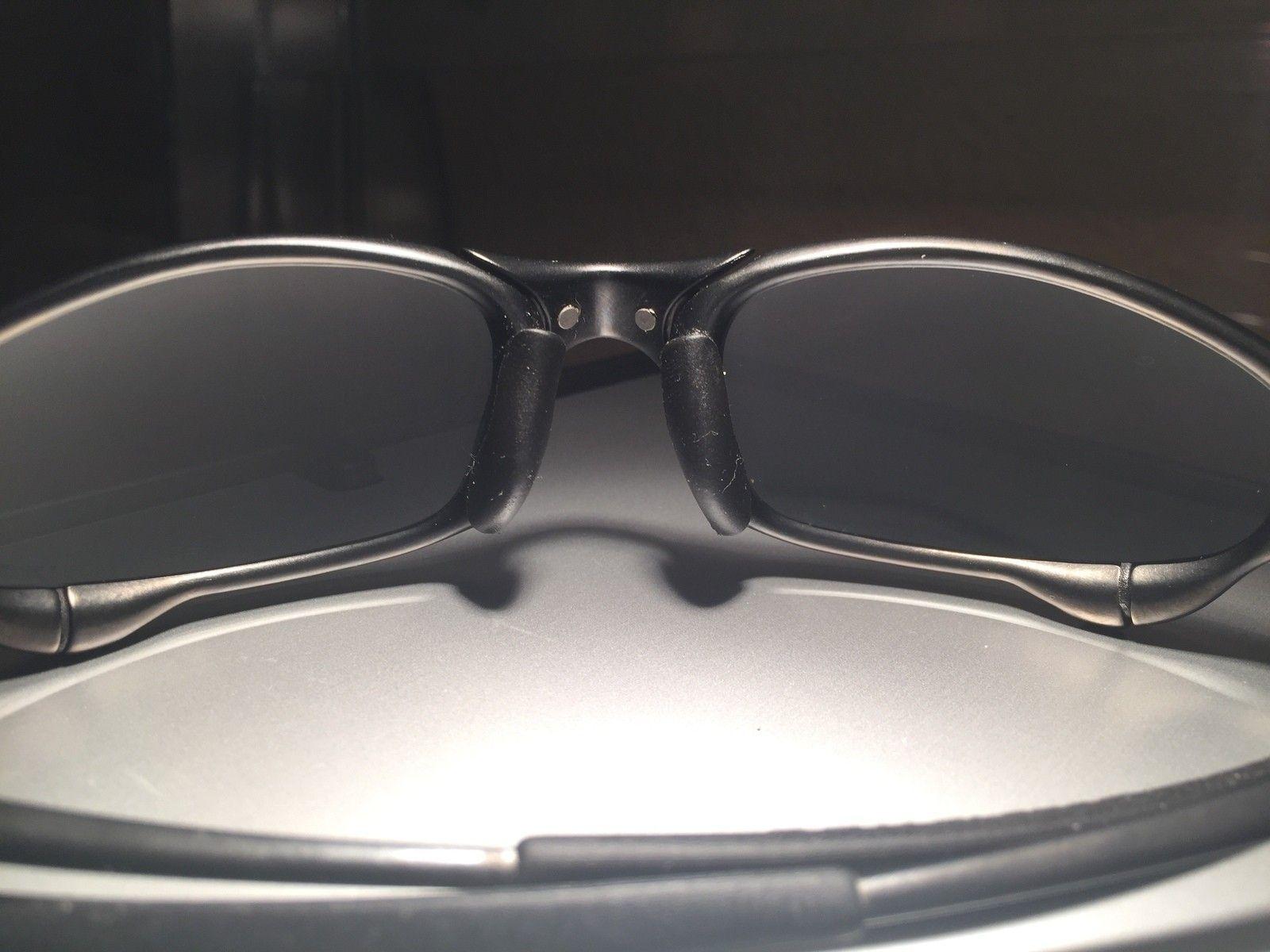 Mint Juliet Carbon w/ Black Iridium Polarized lenses #SOLD - image.jpeg