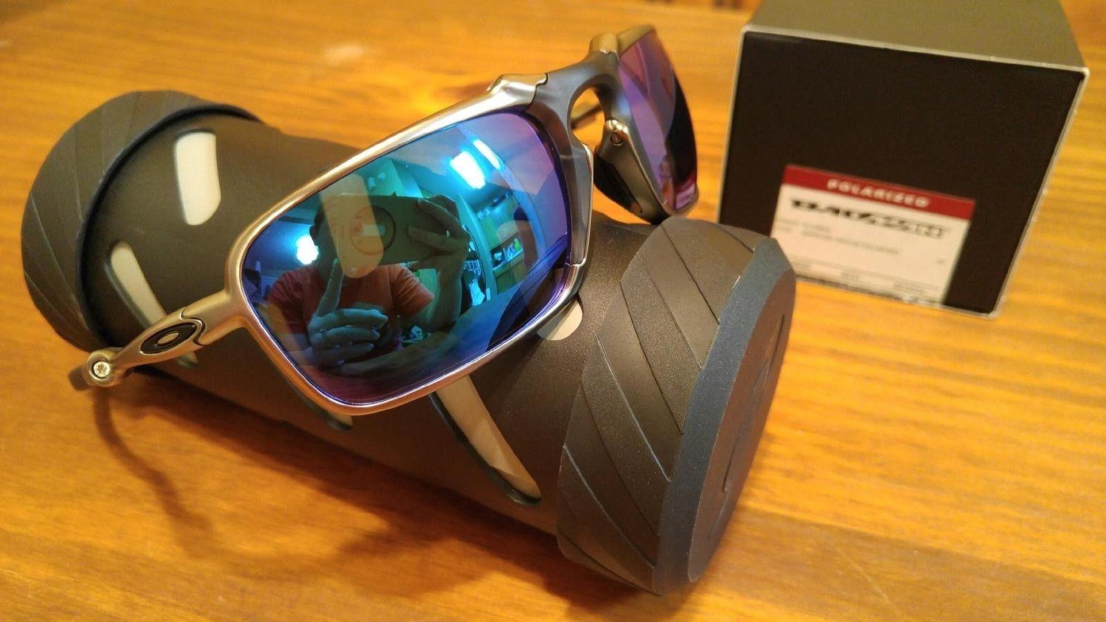 Oakley Plasma Sapphire Badman - $235 - image.jpeg