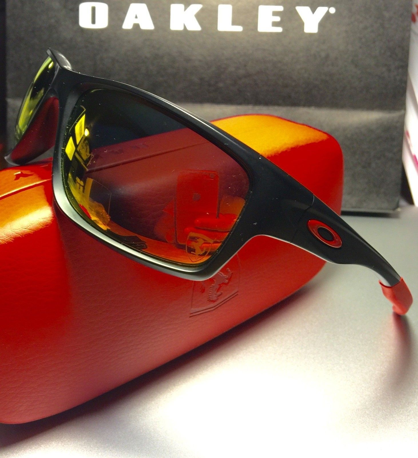 447b274444 Oakley Canteen Ferrari Polarized Sunglasses