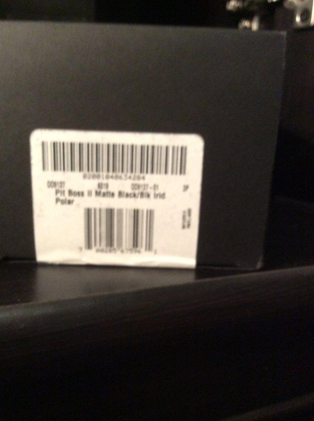 $ 265 G/S Pit boss 2 bnib matte black black Irridium - image.jpeg