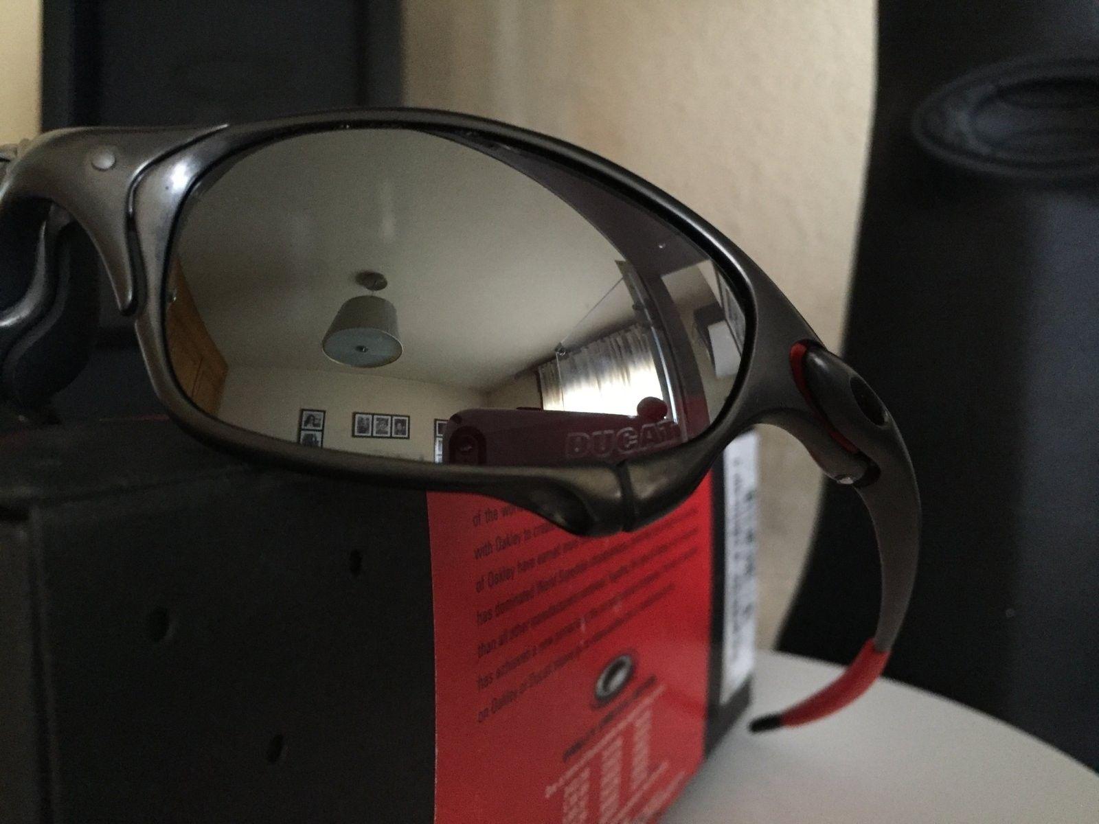 """Bnib Juliet Ducati carbon w/ black iridium """" Limited Edition """" #SOLD - image.jpeg"""