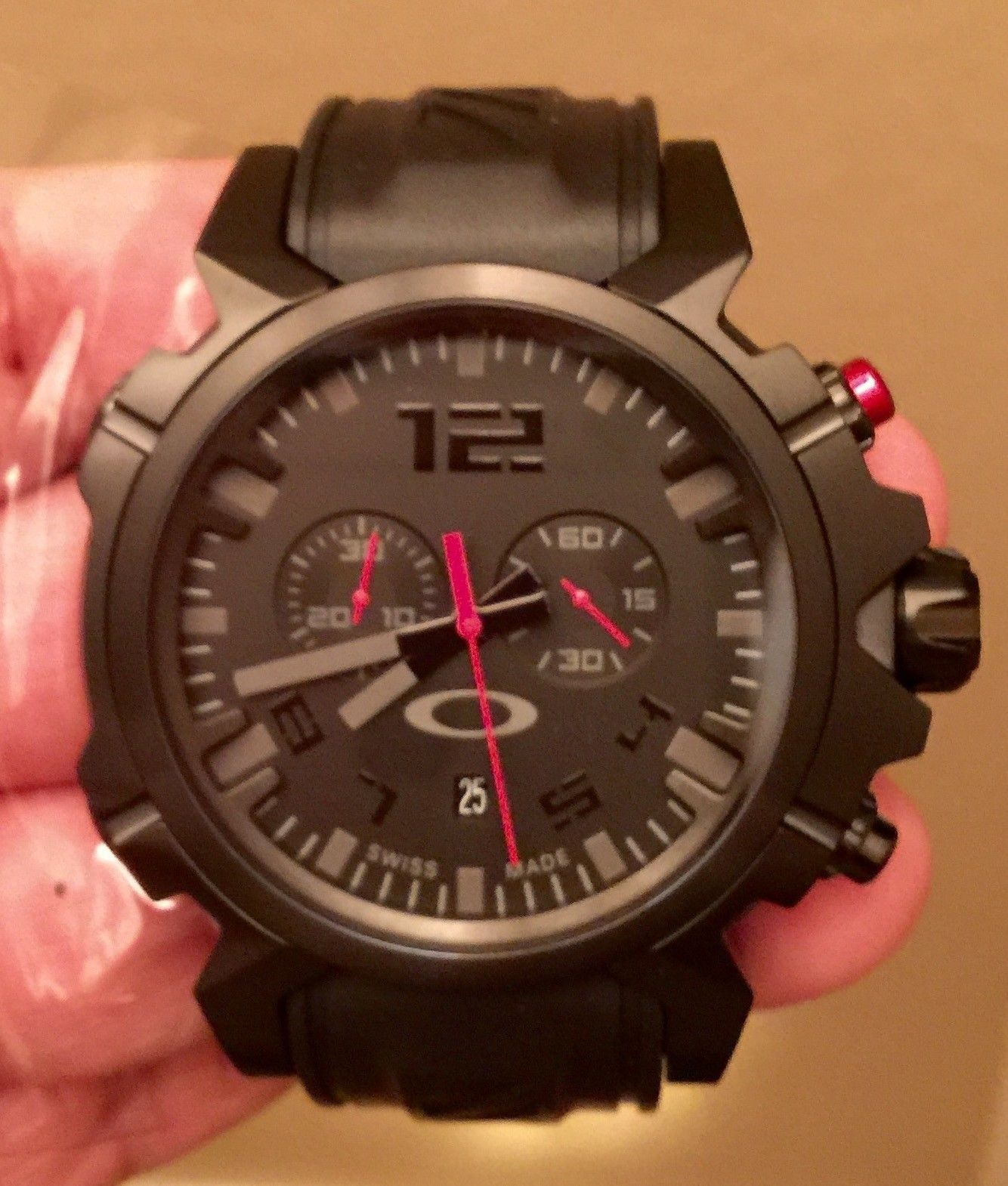 Double Tap Stealth watch. New with tags in box - image.jpeg