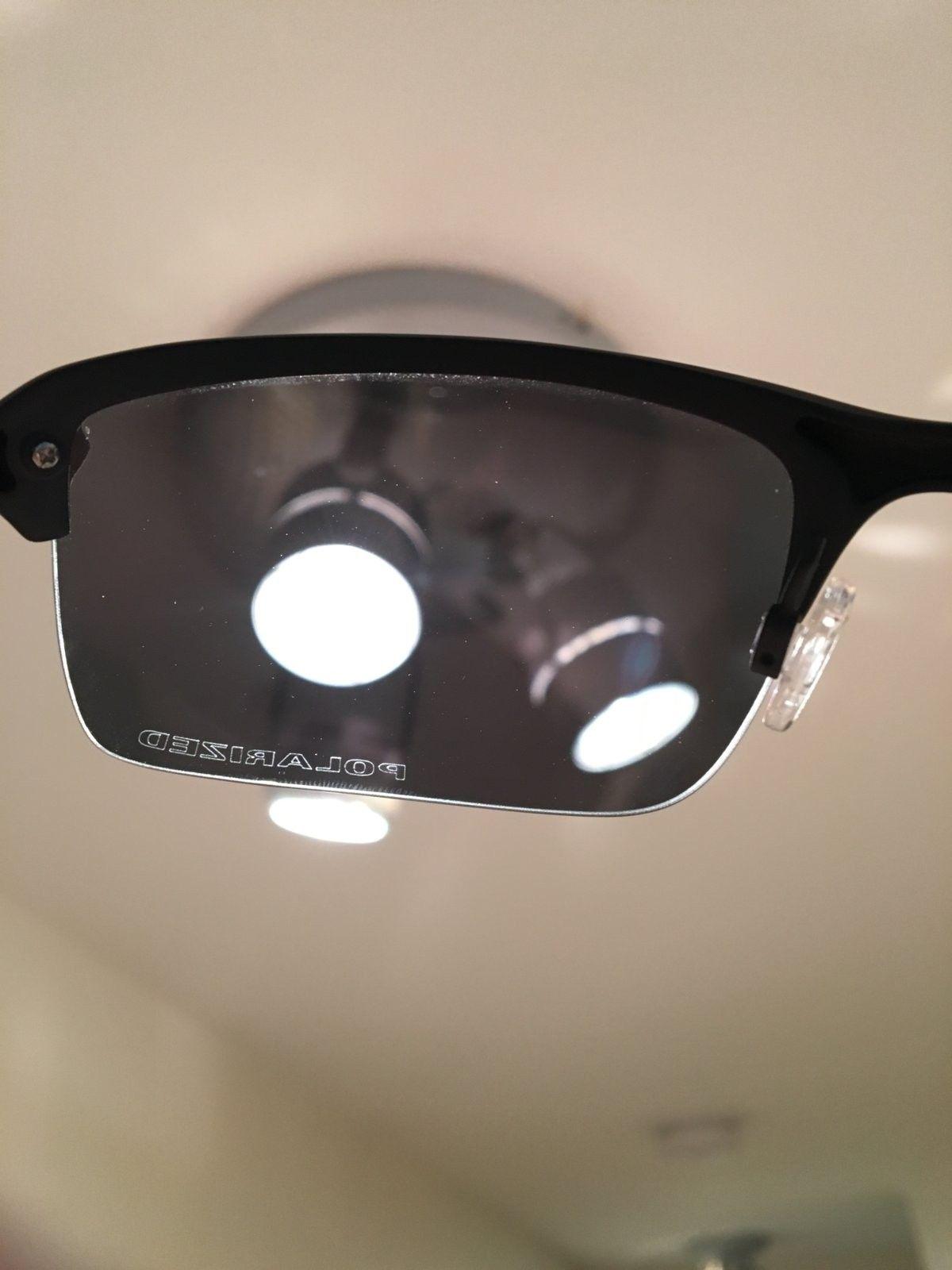 Oakley Wiretap Matte Black/Polarized Black Iridium. OO4071-05 (PRICE DROP) - image.jpeg