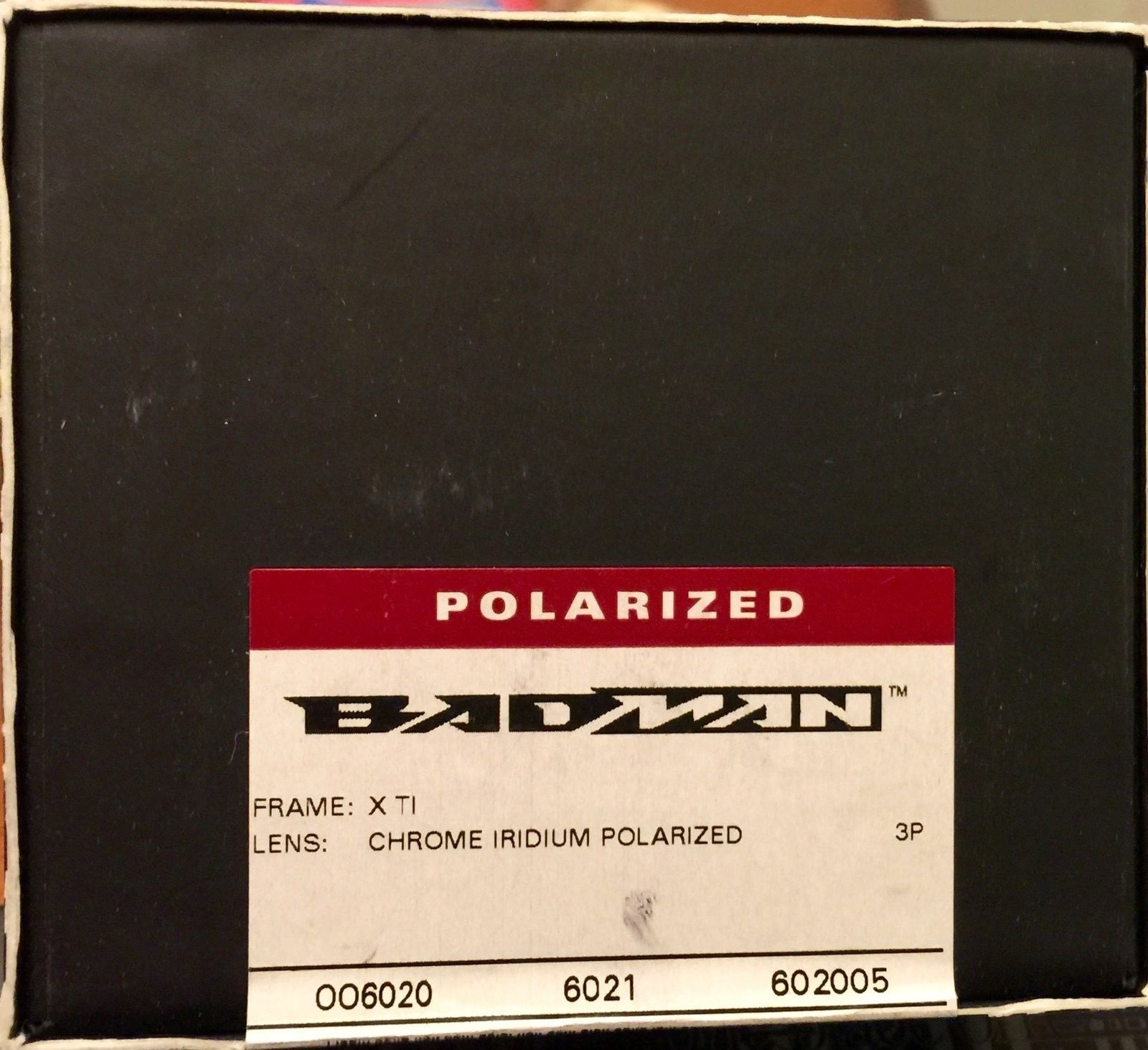 NIB Badman X Titanium / Chrome Iridium Polarized (Sealed Box & Complete) - image.jpeg