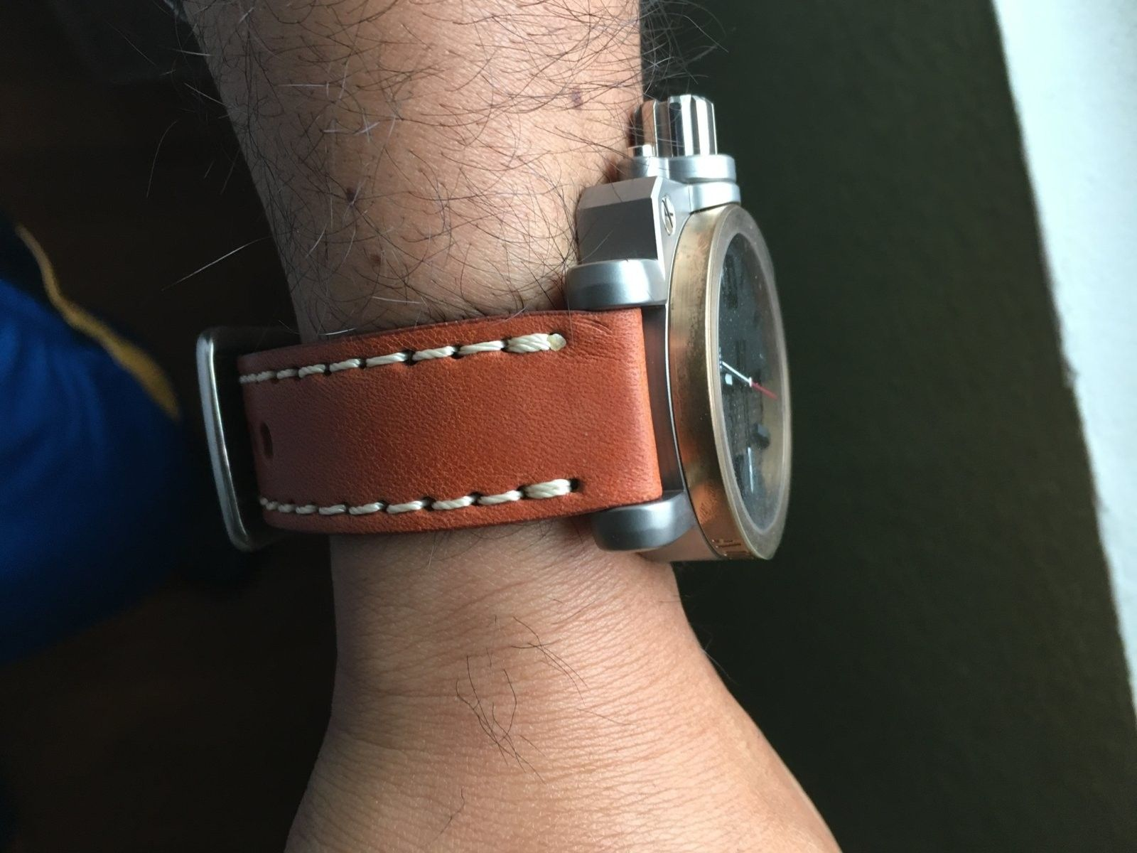 New strap...  Yes or no? - image.jpeg