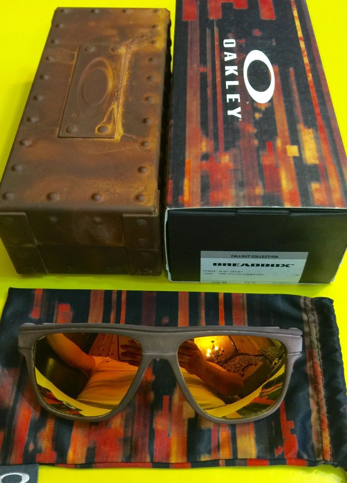 BNIB Breadbox Rust Decay / Fire Iridium Polarized - image.jpeg