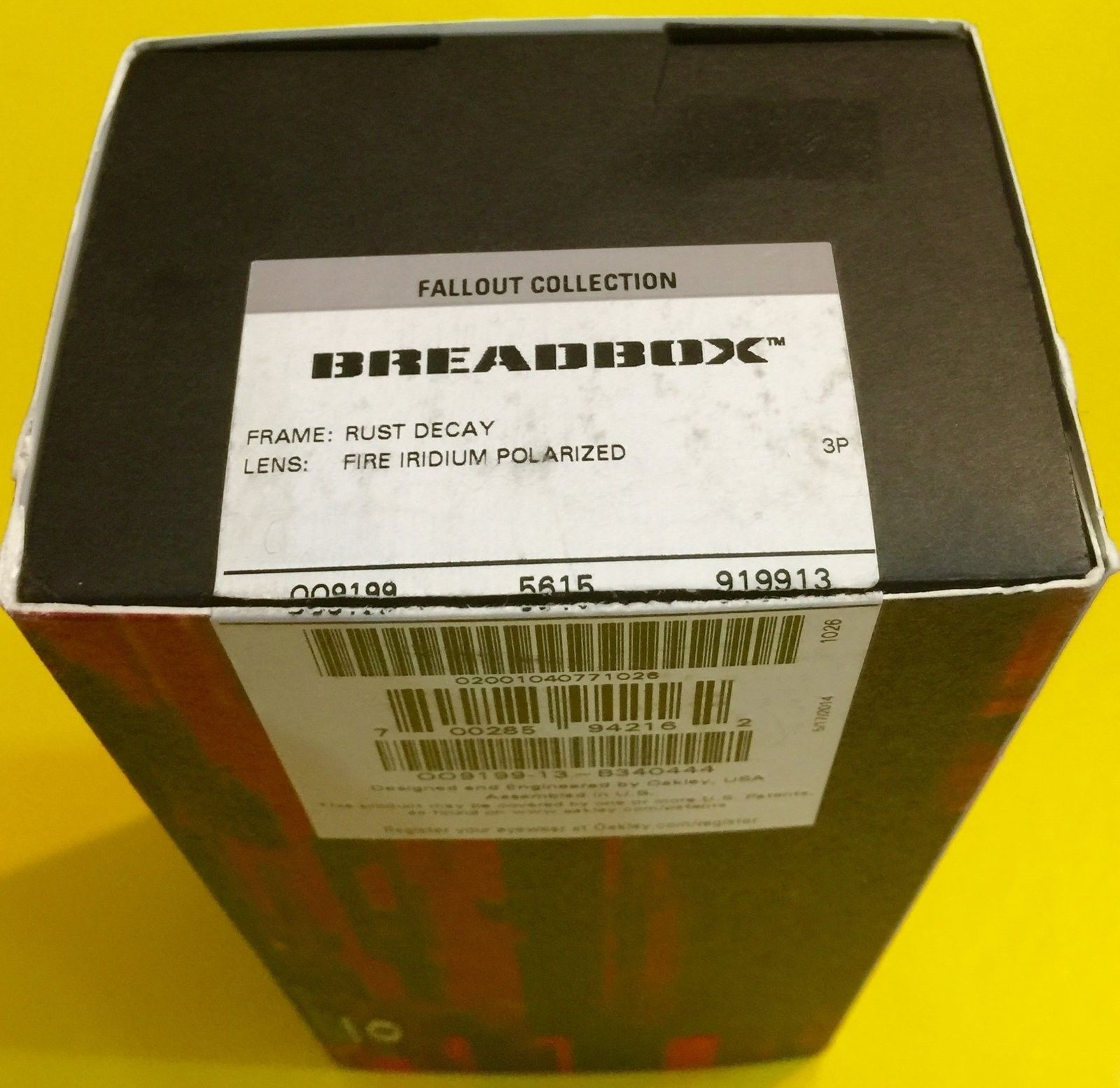 BNIB Breadbox Rust Decay / Fire Iridium Polarized - image.jpeg