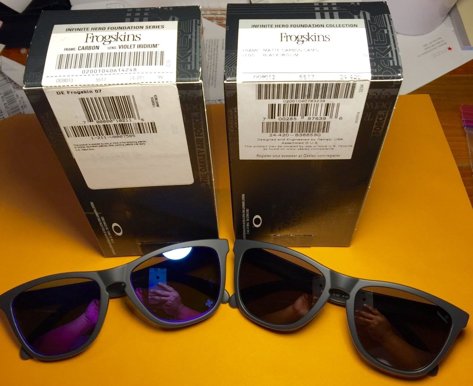Bundle BNIB Frogskins Infinite Hero (24-420 / 24-348) - image.jpeg