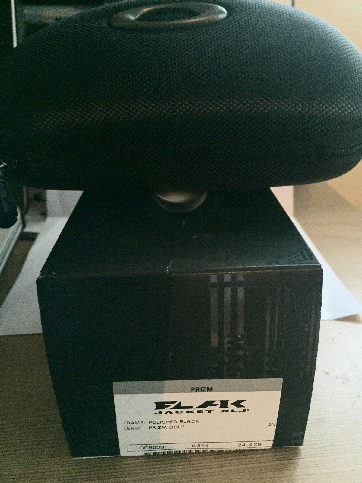 100 USD BNIB Flak Jacket XLJ with Prizm Golf lenses. - image.jpeg