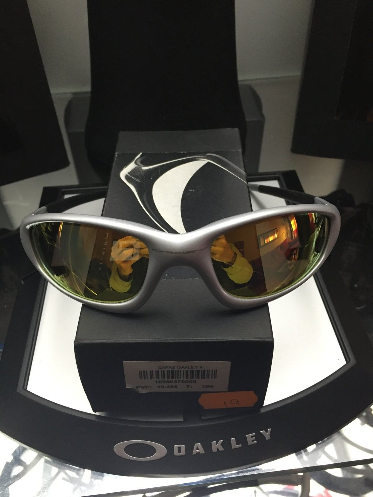 Straigth Silver w/ Fire Iridium Polarized SKU: 12-810 $130 - image.jpeg
