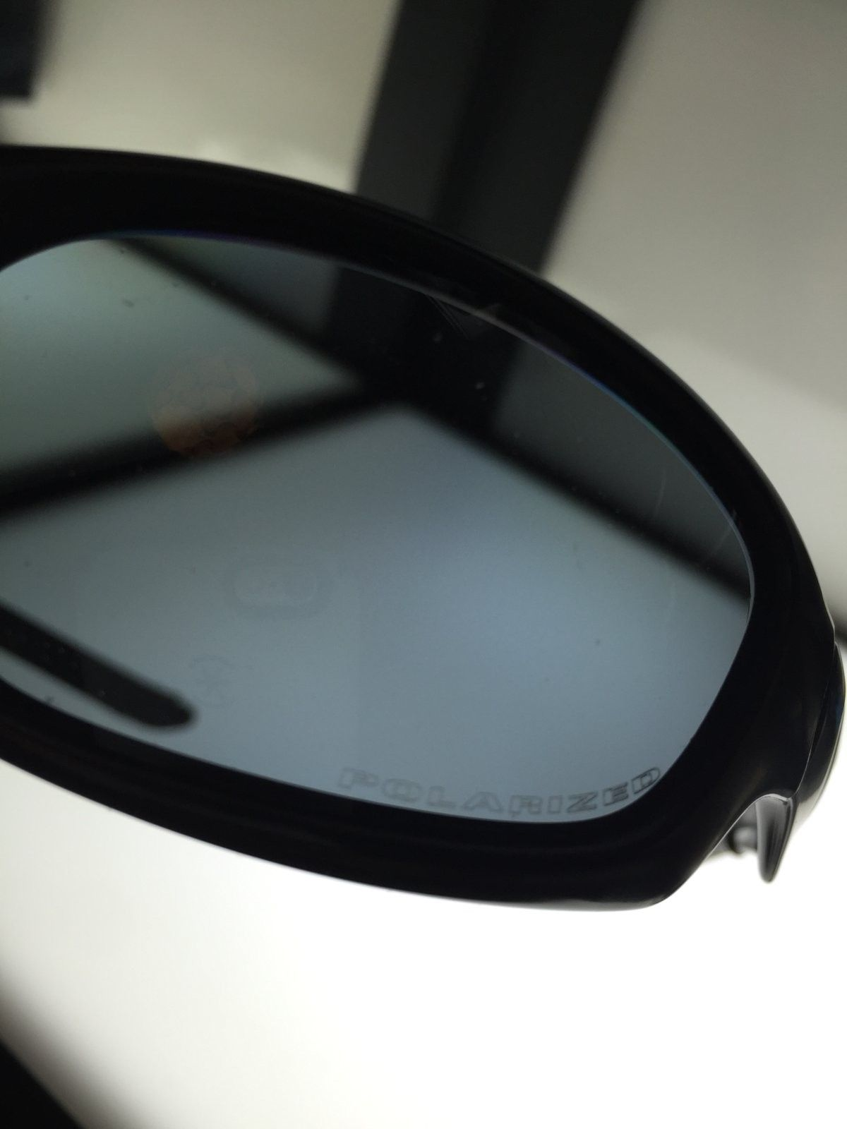 New Straight Jacket II mate black w/ grey polarized SKU: 24-124 - $100 - image.jpeg