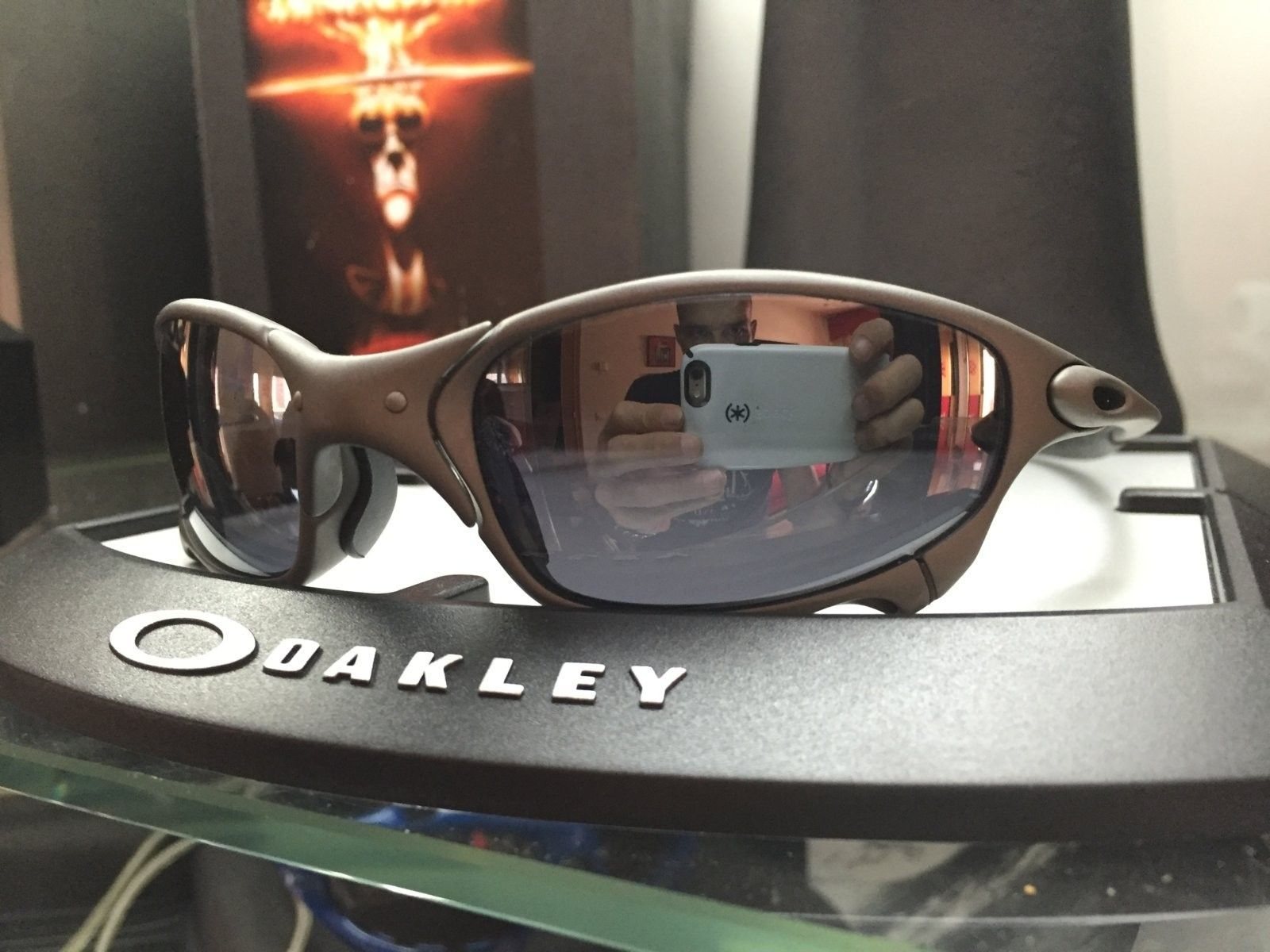 juliet Xmetal w/ black iridium lenses or w/ Bnib gold iridium lenses #SOLD - image.jpeg