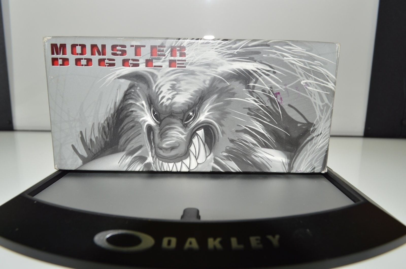 Monster Doggle Black fade w/ black iridium SKU: 05-077 $150 - image.jpeg
