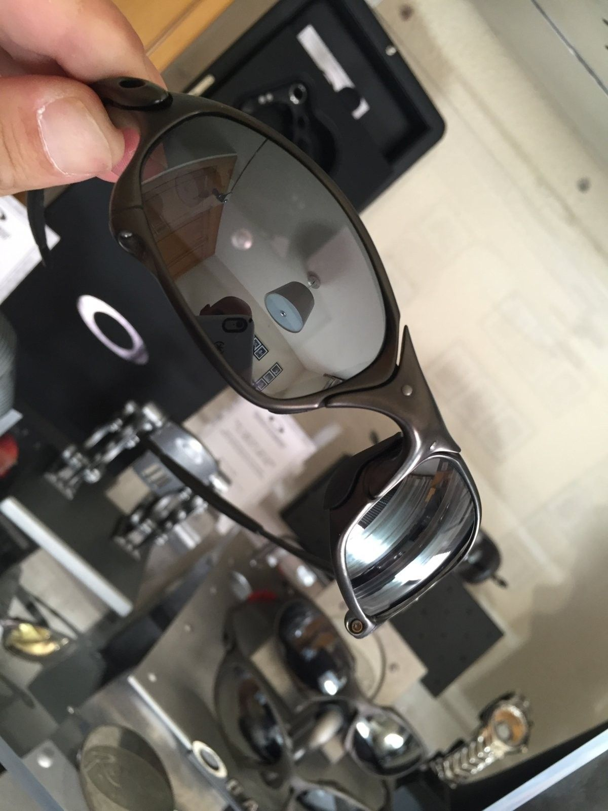 juliet carbon w/ black iridium SKU: 04-128 #SOLD - image.jpeg
