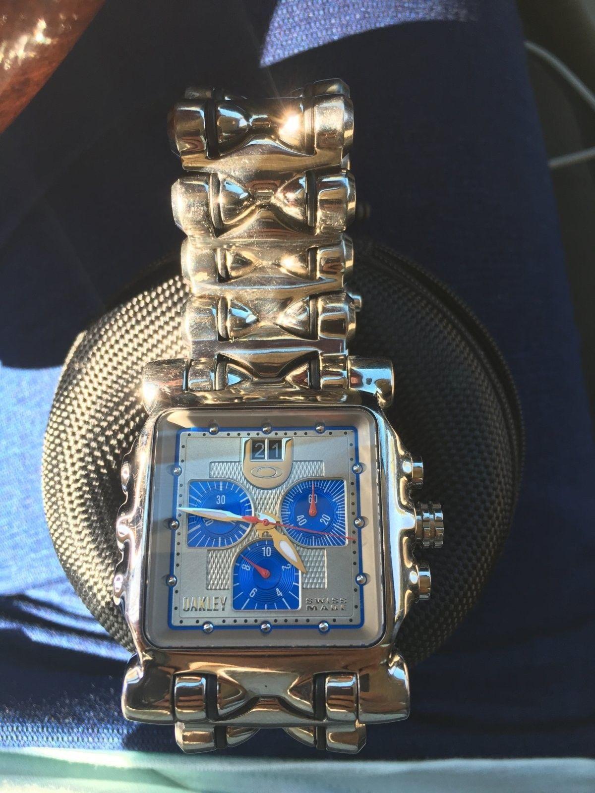 Oakley polished MM watch - image.jpeg