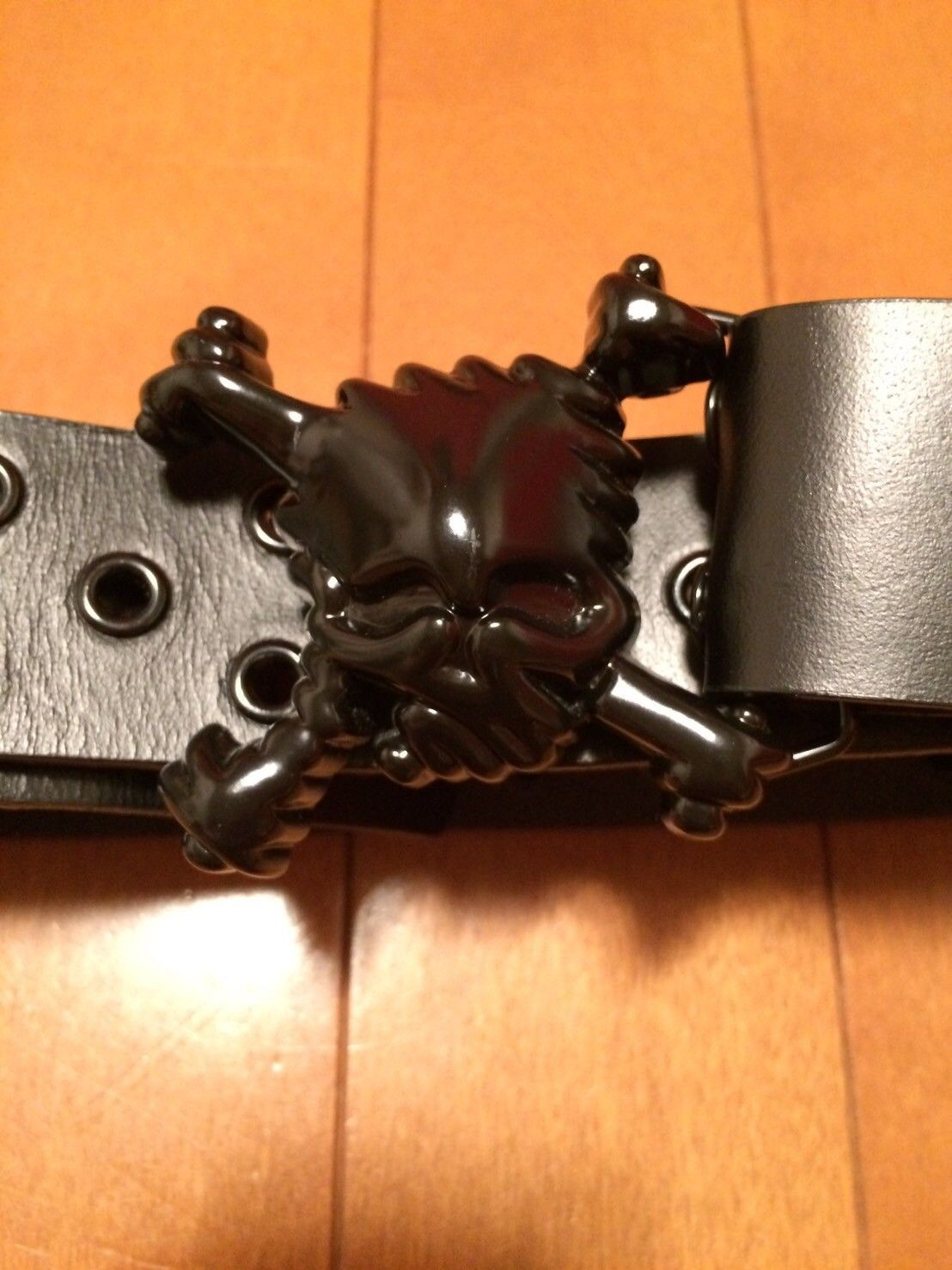 Skull belt ( in great condition ) 100$ - image.jpeg