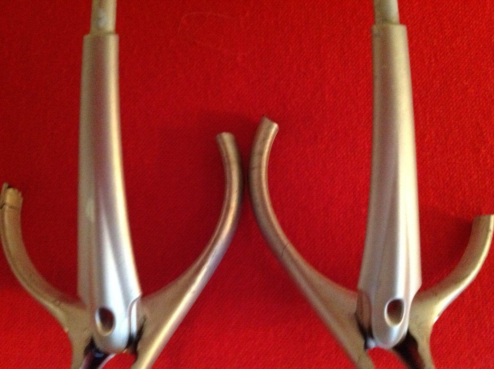 Oakley MOON Silver Ear Stems (2) Will separate - image.jpeg