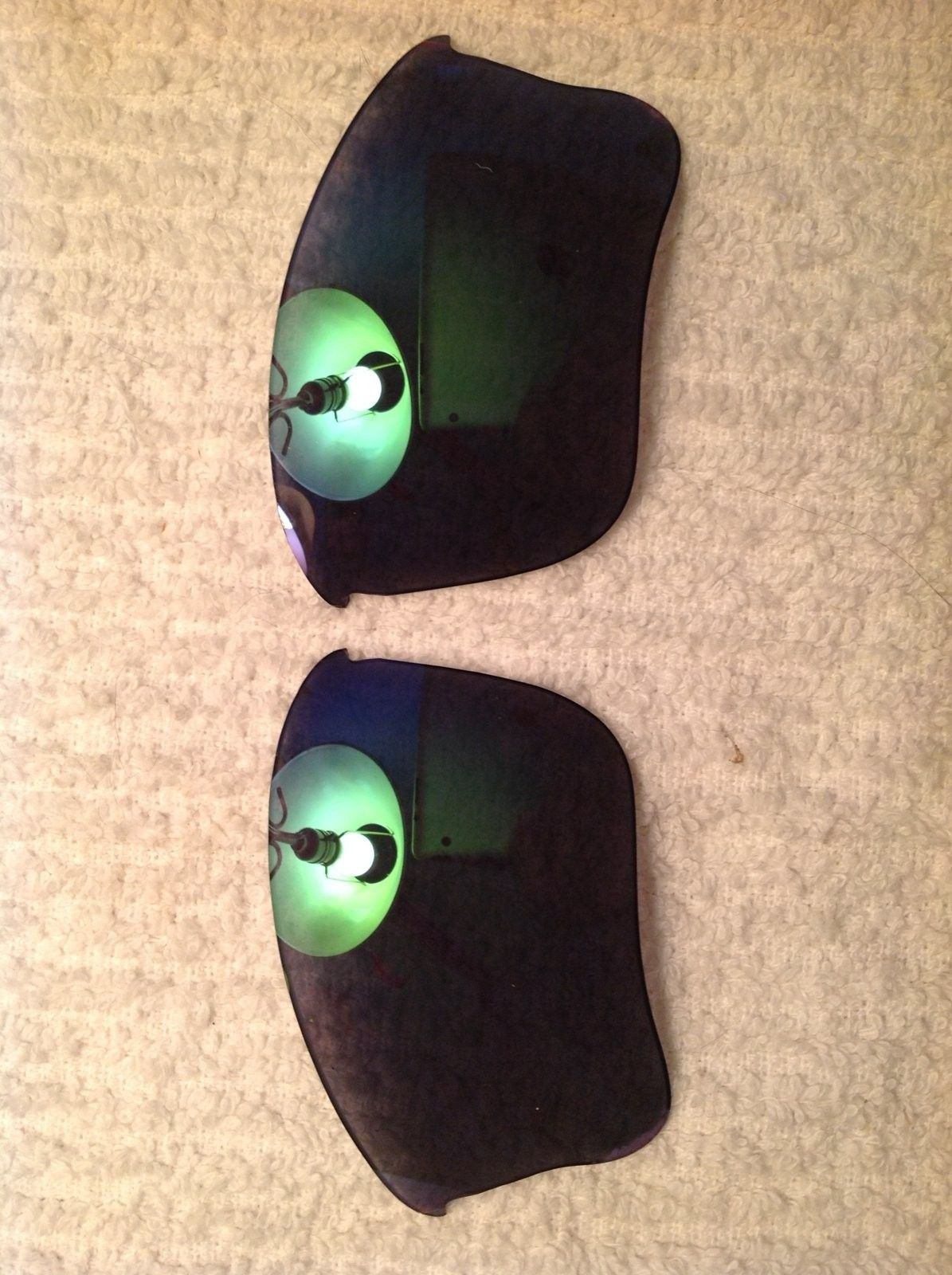 Perfect pair of Flak Jacket Genuine Oakley Jade Iridium Lenses - image.jpeg