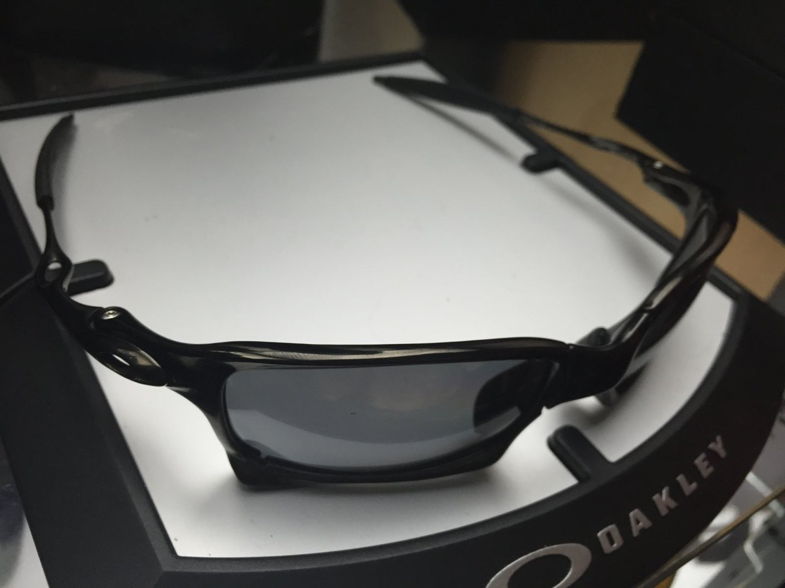 Xsquared carbon polished w/ black iridium Polarized SKU: 006011-06 - $380 - image.jpeg