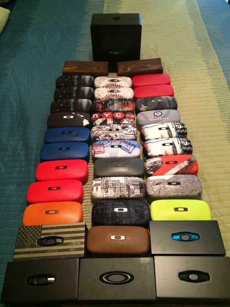 My Oakley Eyewear Case Collection Keeps Growing: - image.jpg