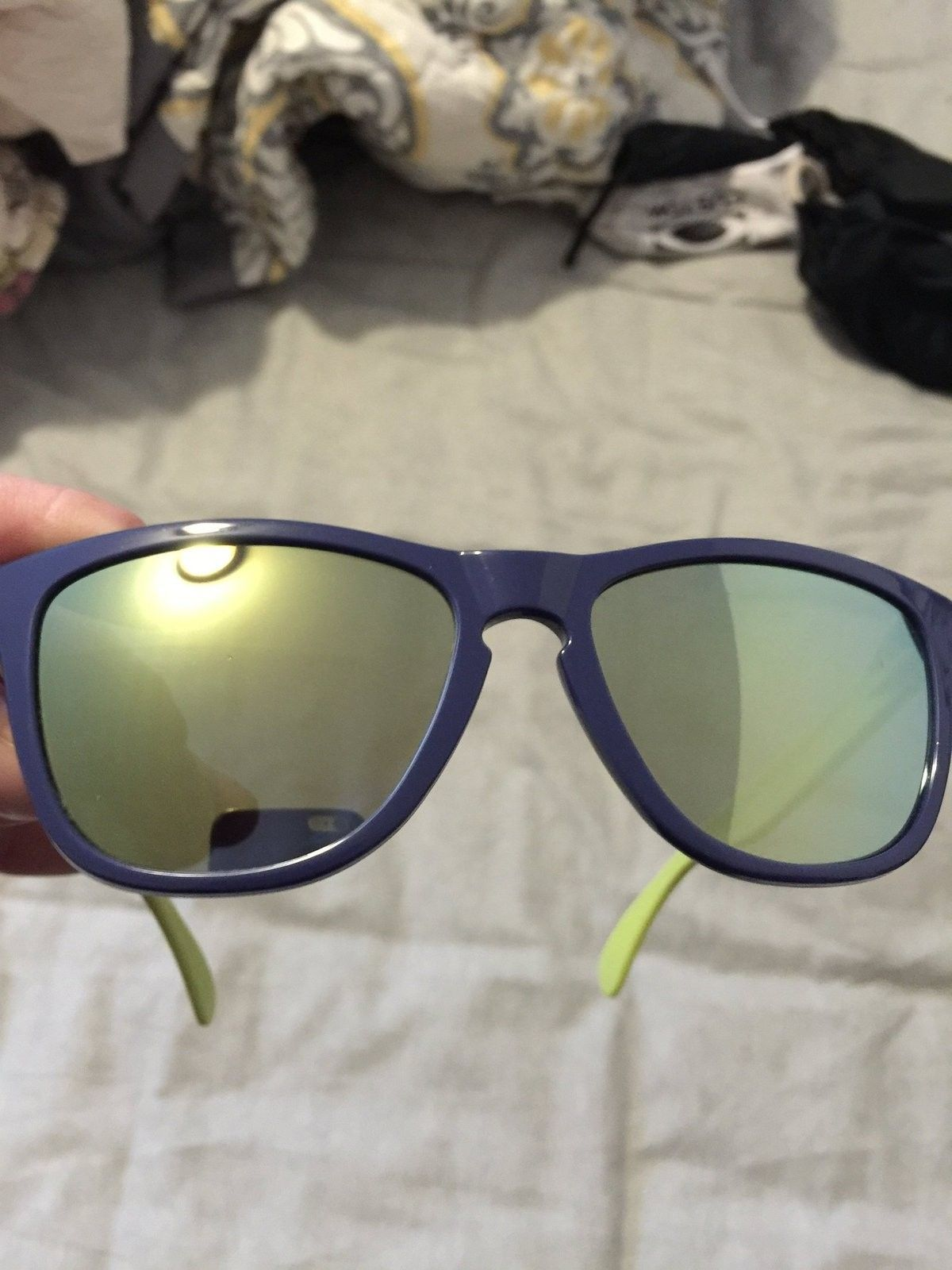 Collectors Frogskins Coastal with Emerald Iridium ANOTHER PRICE DROP - image.jpg