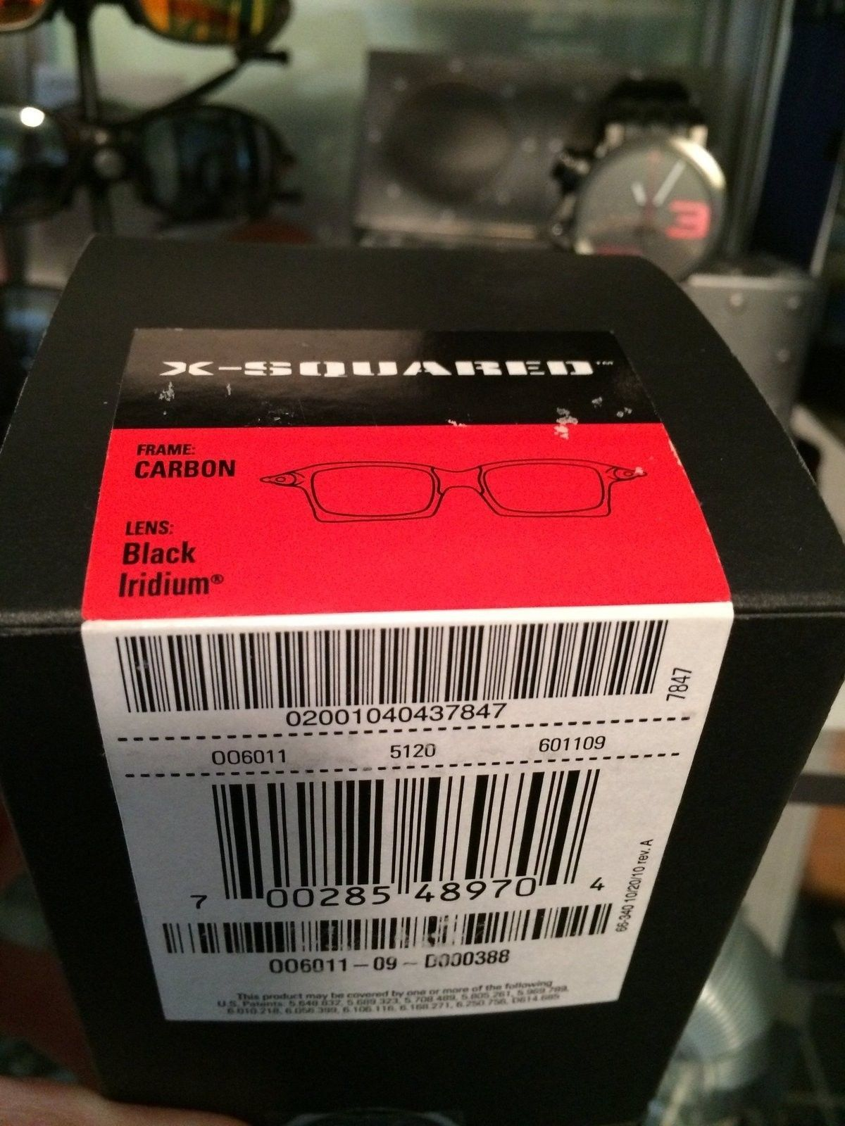 Bought Ducati X-squared BNIB...question regarding package label and of course authenticity... - image.jpg