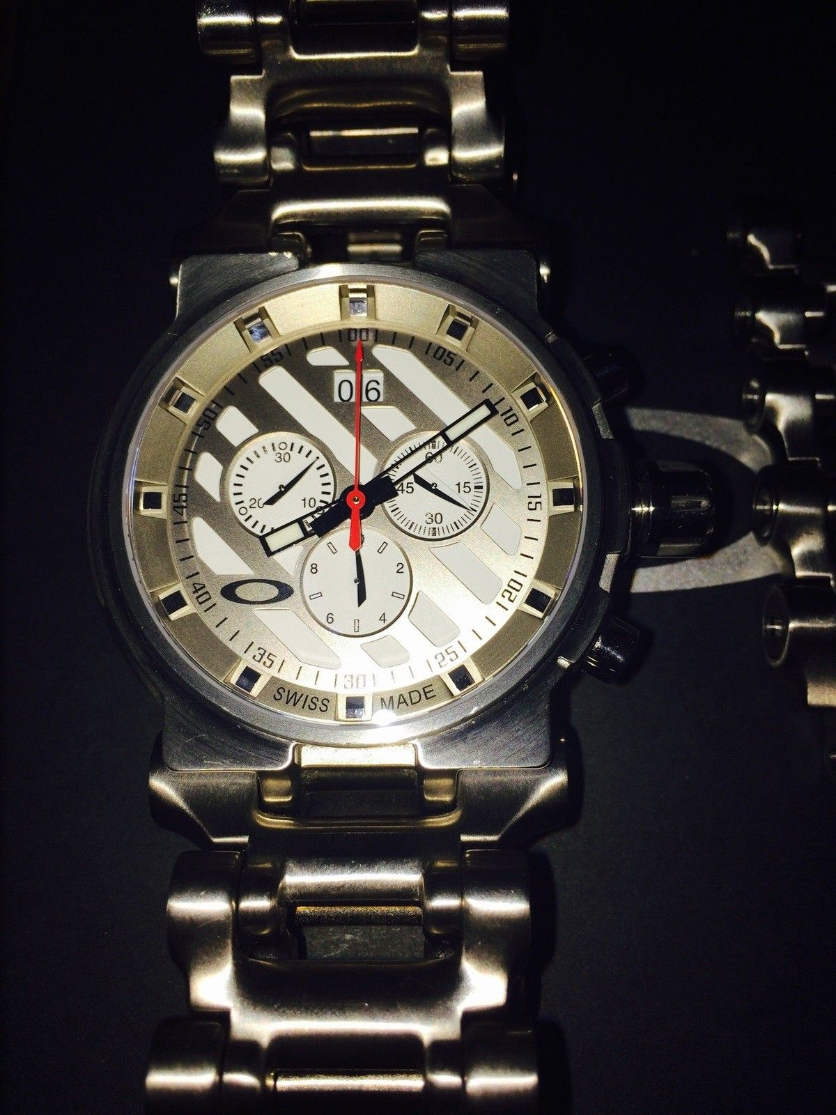 White Face Hollowpoint Watch - image.jpg