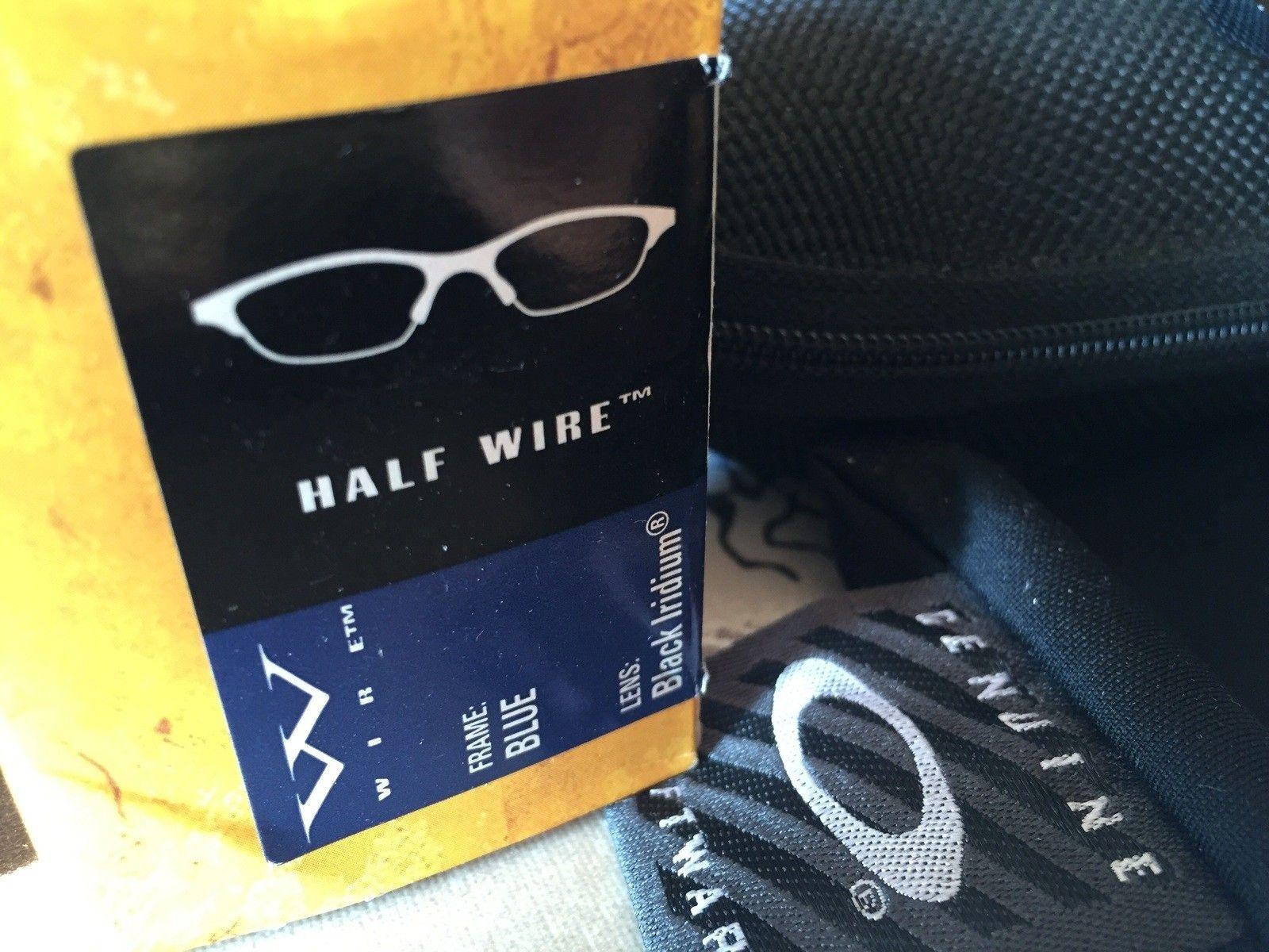 Oakley Half Wire Blue/Black, new - image.jpg