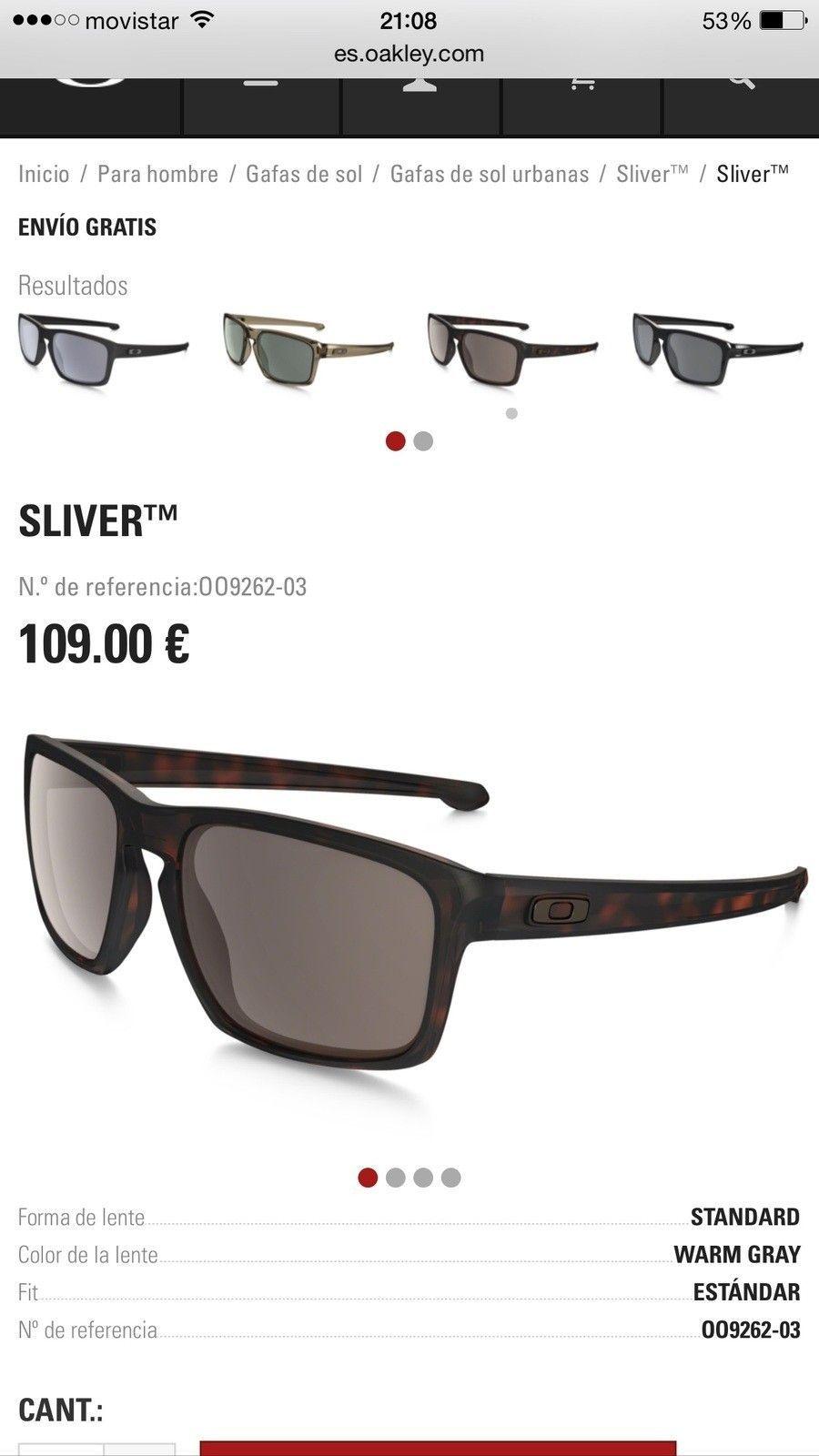 ad9228f2c Oakley Black Iridium Vs Dark Grey