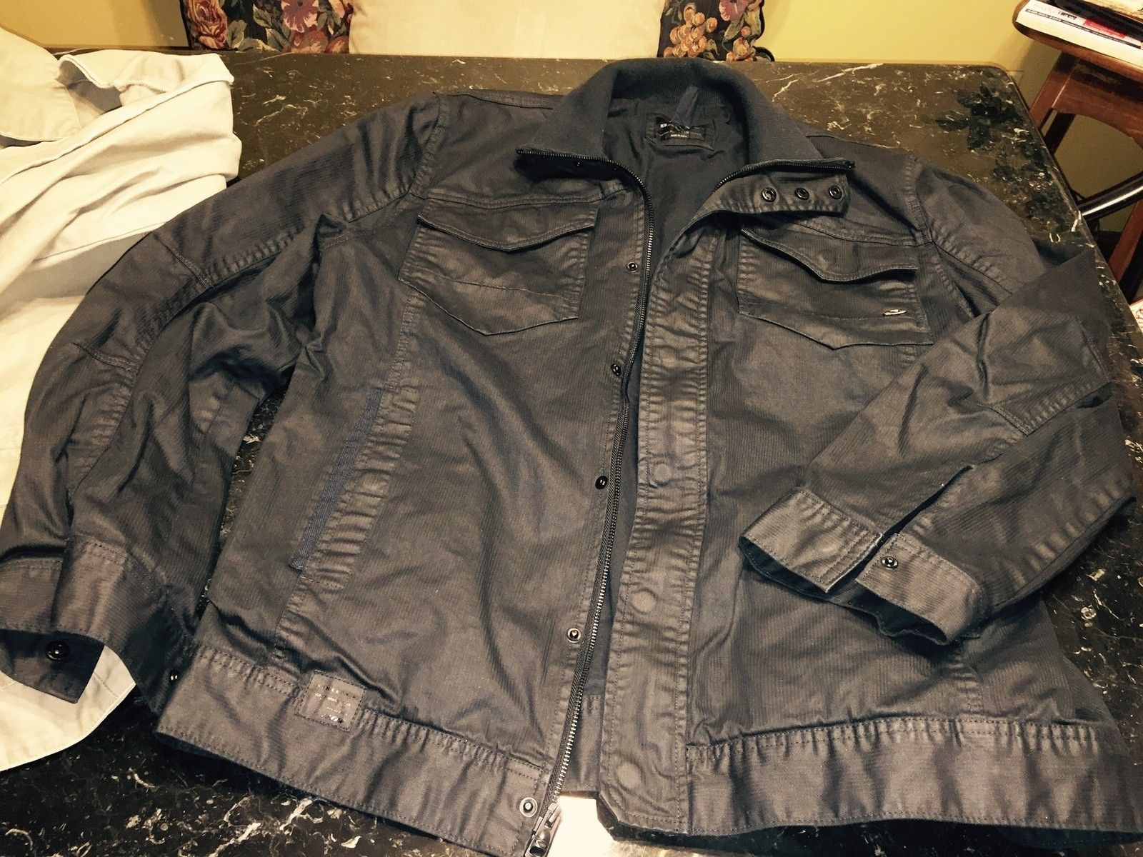 Two Oakley jackets Black and Tan - image.jpg