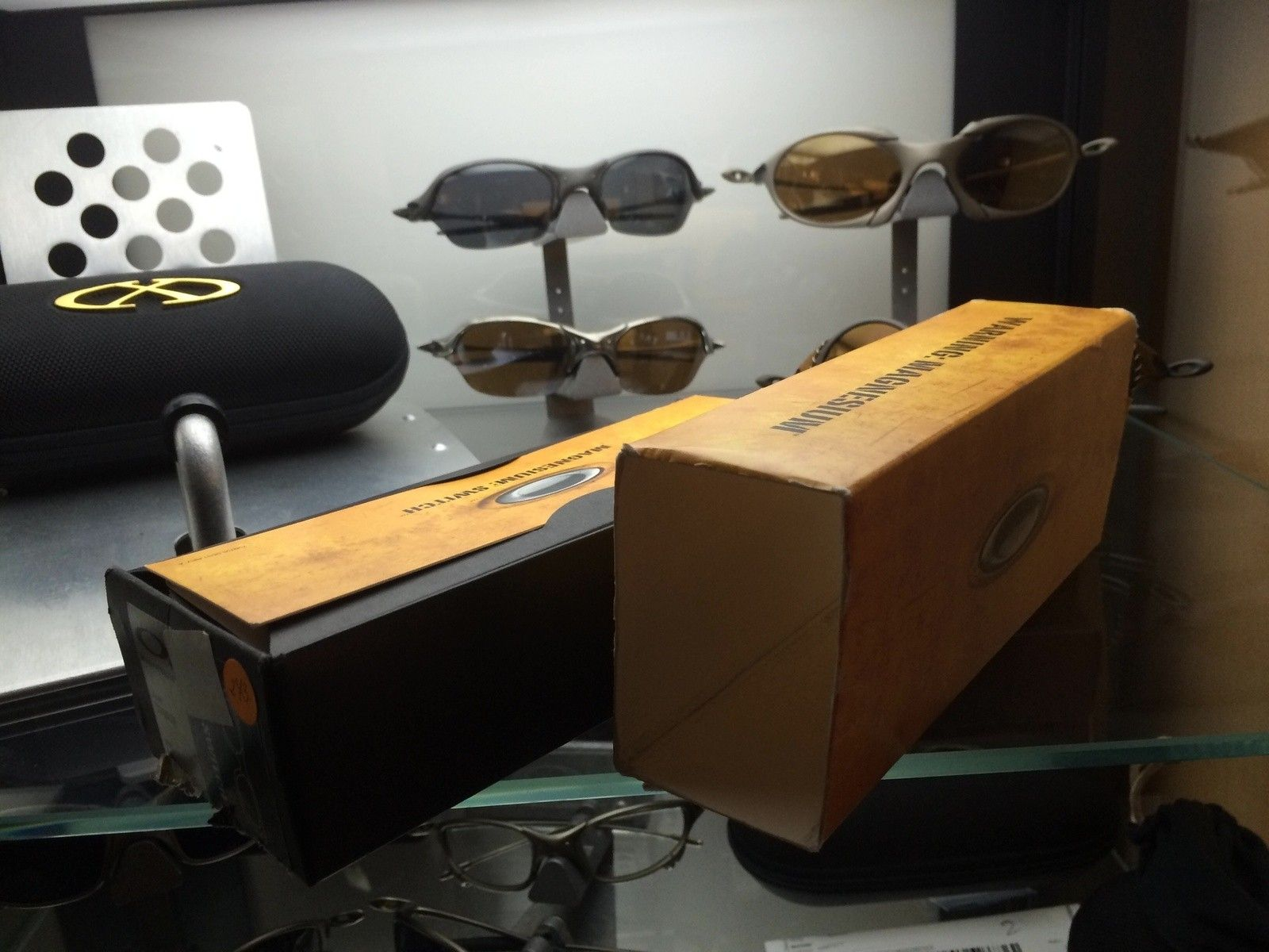 BNIB Oakley Magnesium Switch TiCopper / Ice Iridium ***** SOLD ***** - image.jpg