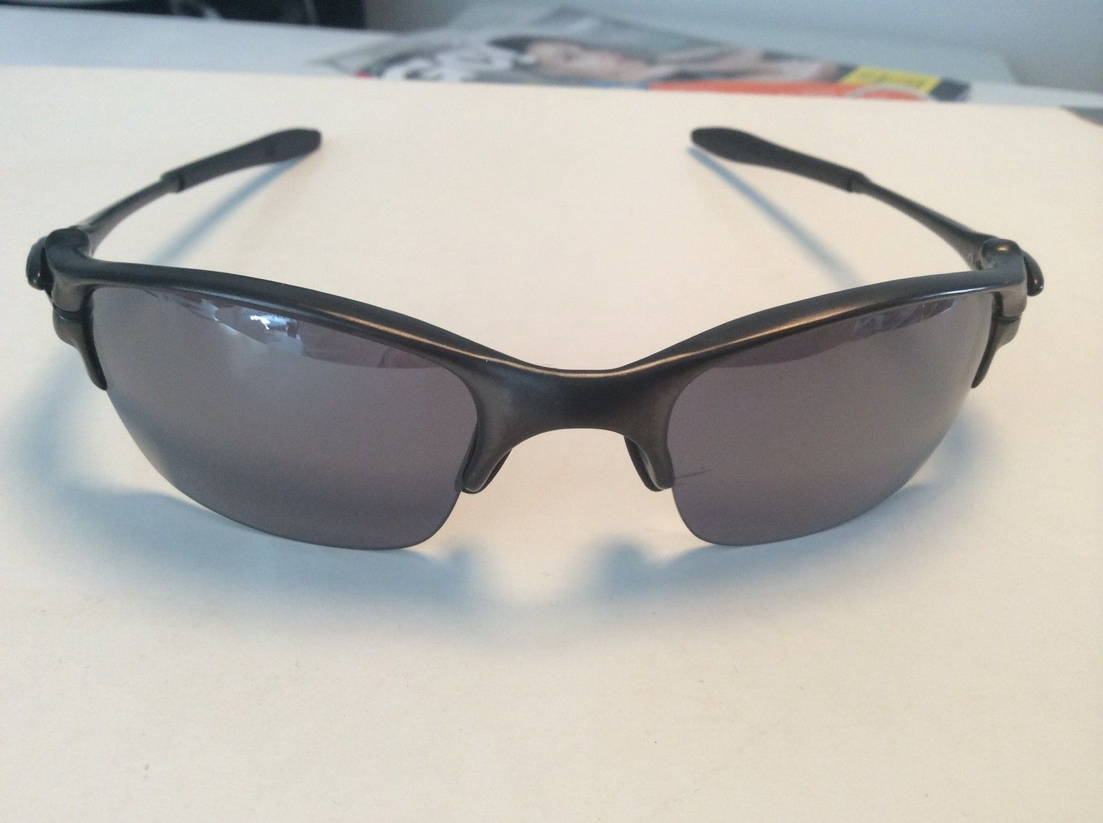 Half-X Carbon/BI - with BNIB Ruby & Emerald lenses - OPEN TO OFFERS OR TRADE... - image.jpg