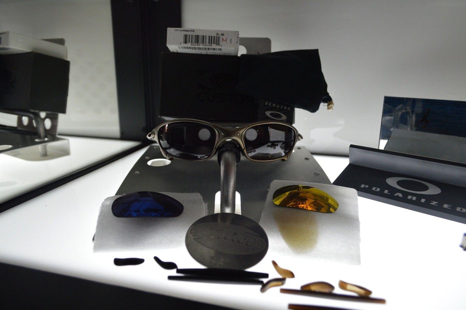 Juliet plasma 2nd gen custom / black + blue & fire set of lenses + xtra rubbers  *** Price Drop *** - image.jpg