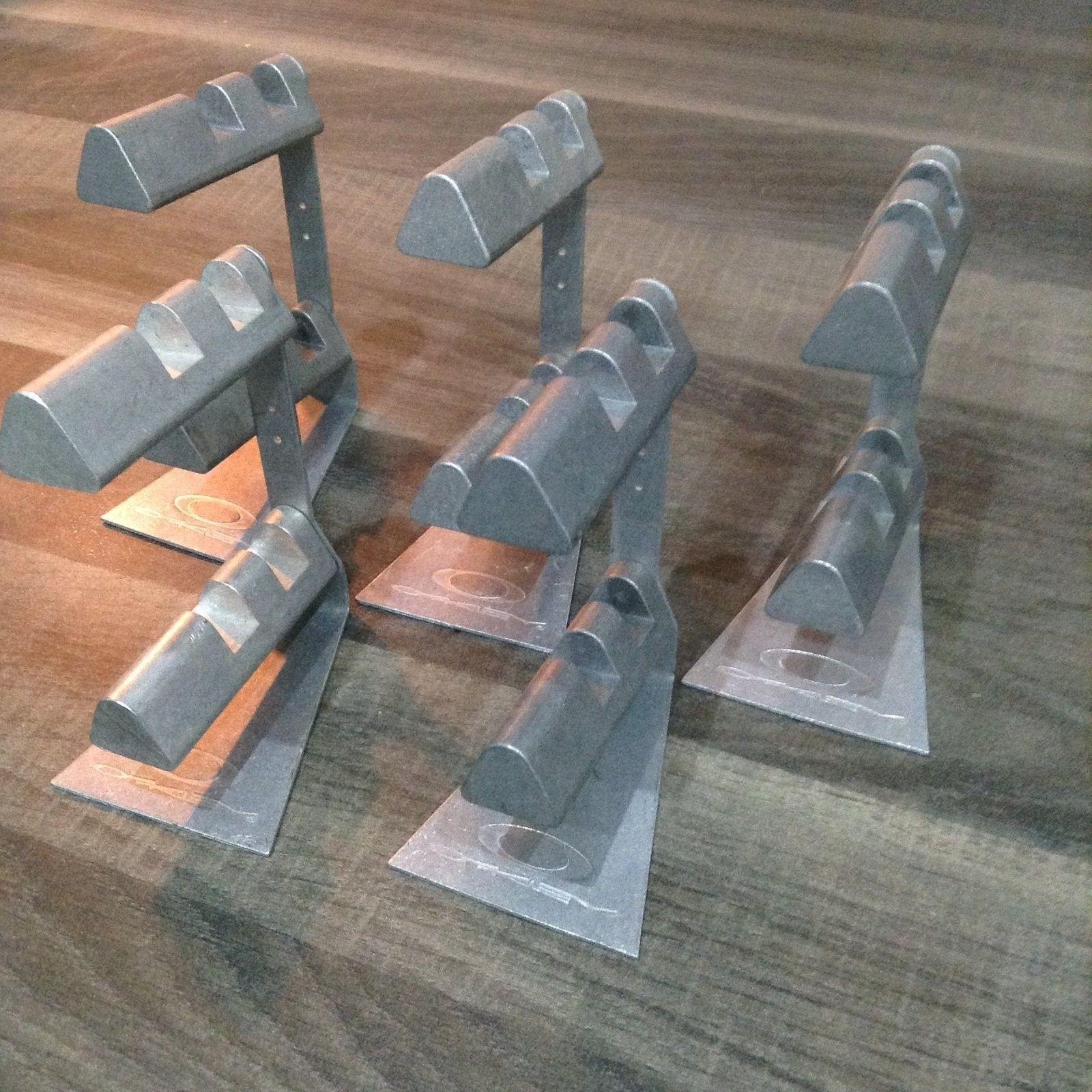 2 Tier metal stands. - image.jpg