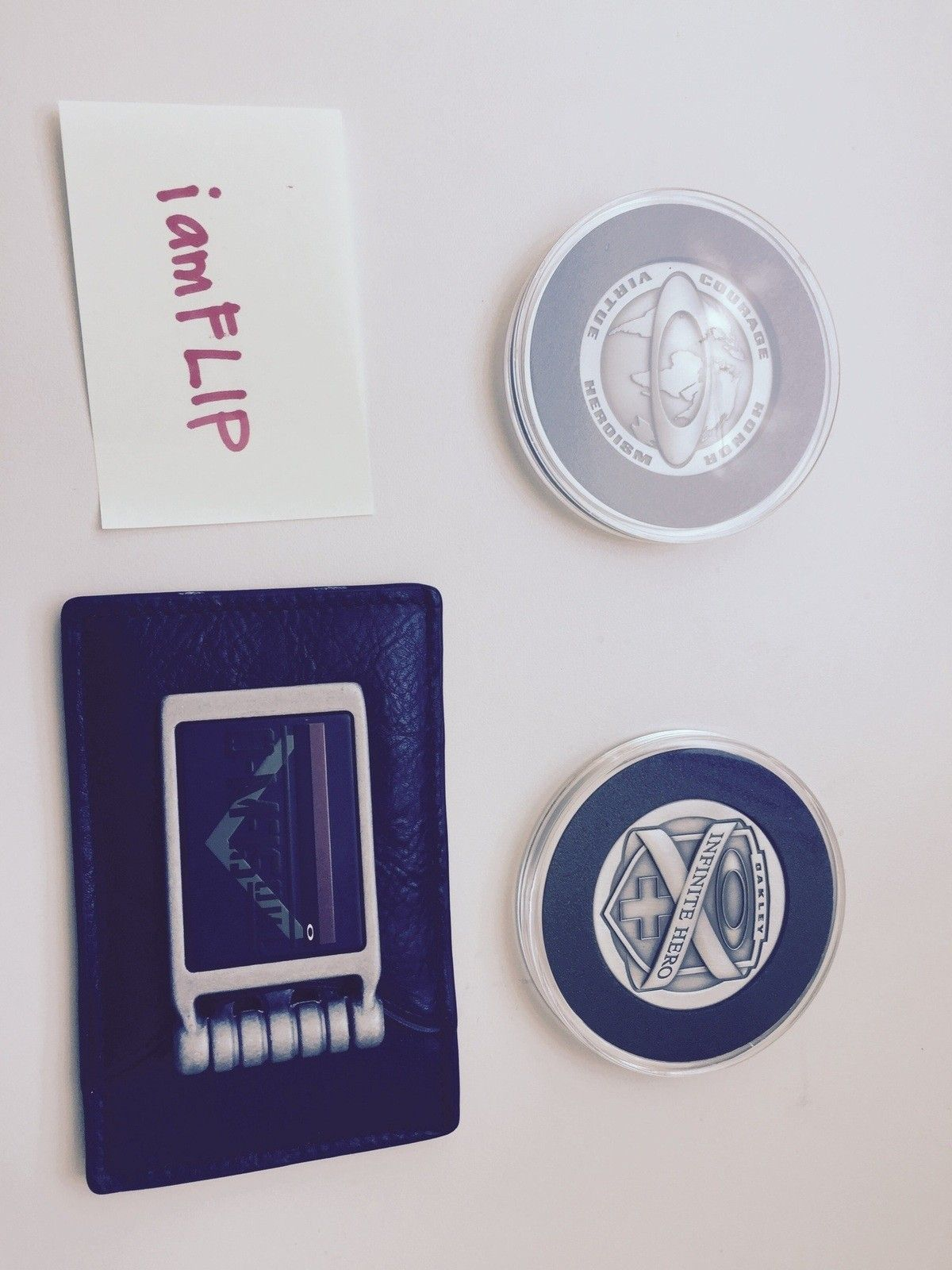 Infinite Hero coins, B-1B BMX  Grips -- TAKING OFFERS! - image.jpg