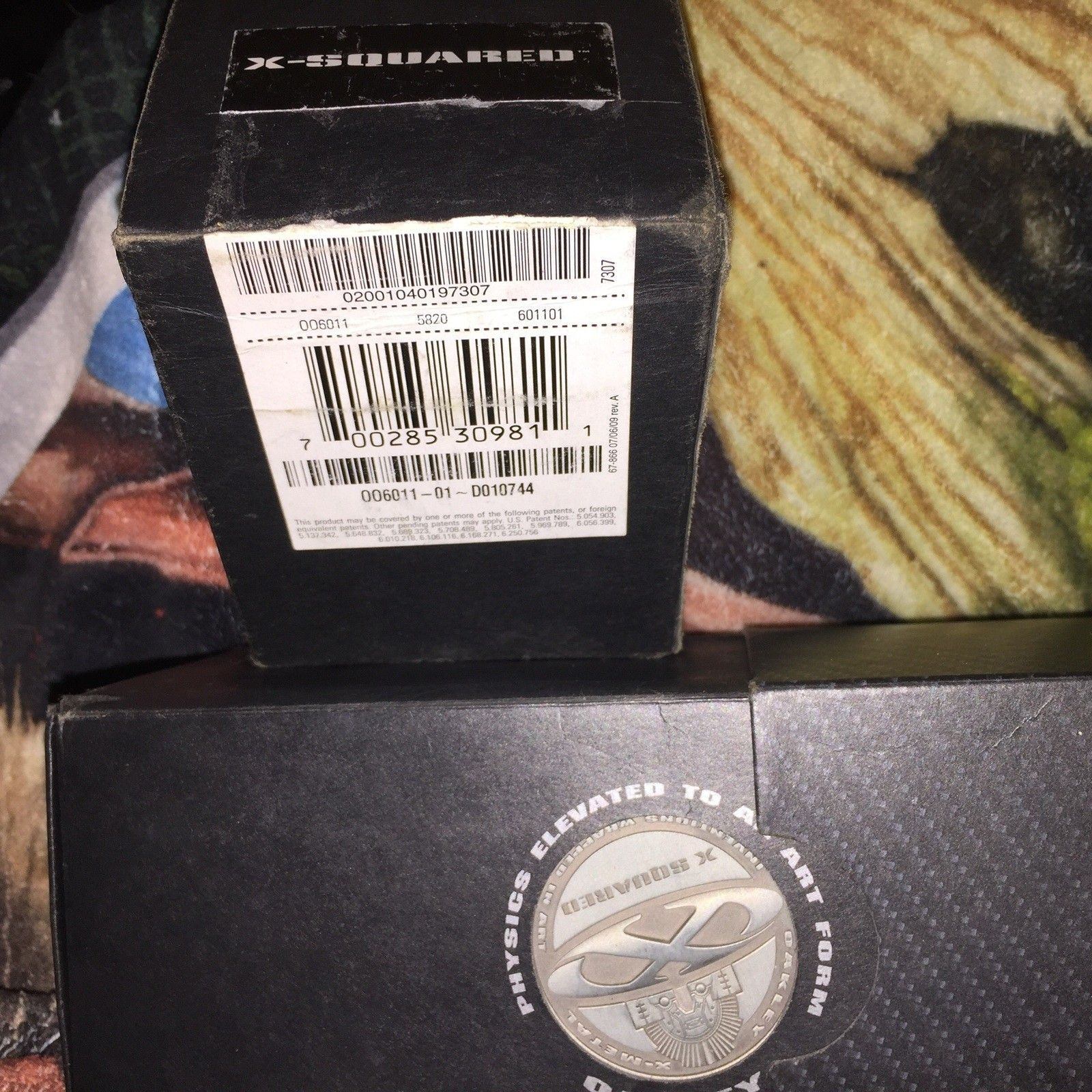 X squared carbon box and coin and a Xmetal ballistic case or trade - image.jpg