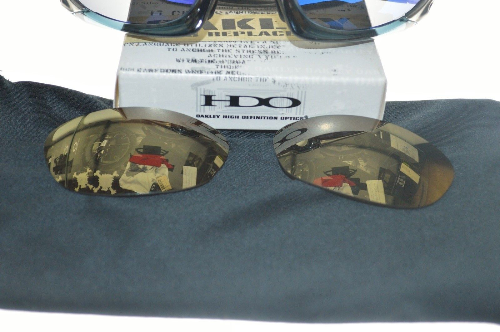 LNIB Splice cr.bl/FMJ sku#03-723 & BNIB Gold lenses (CLOSED - CONSOLIDATING THREADS) - image.jpg