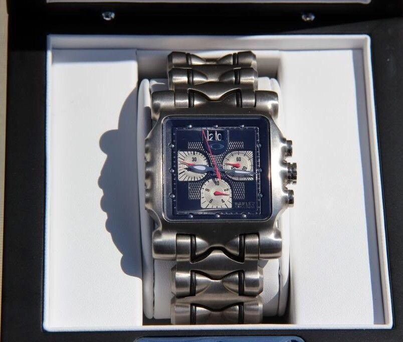Minute machine watch black dial - image.jpg