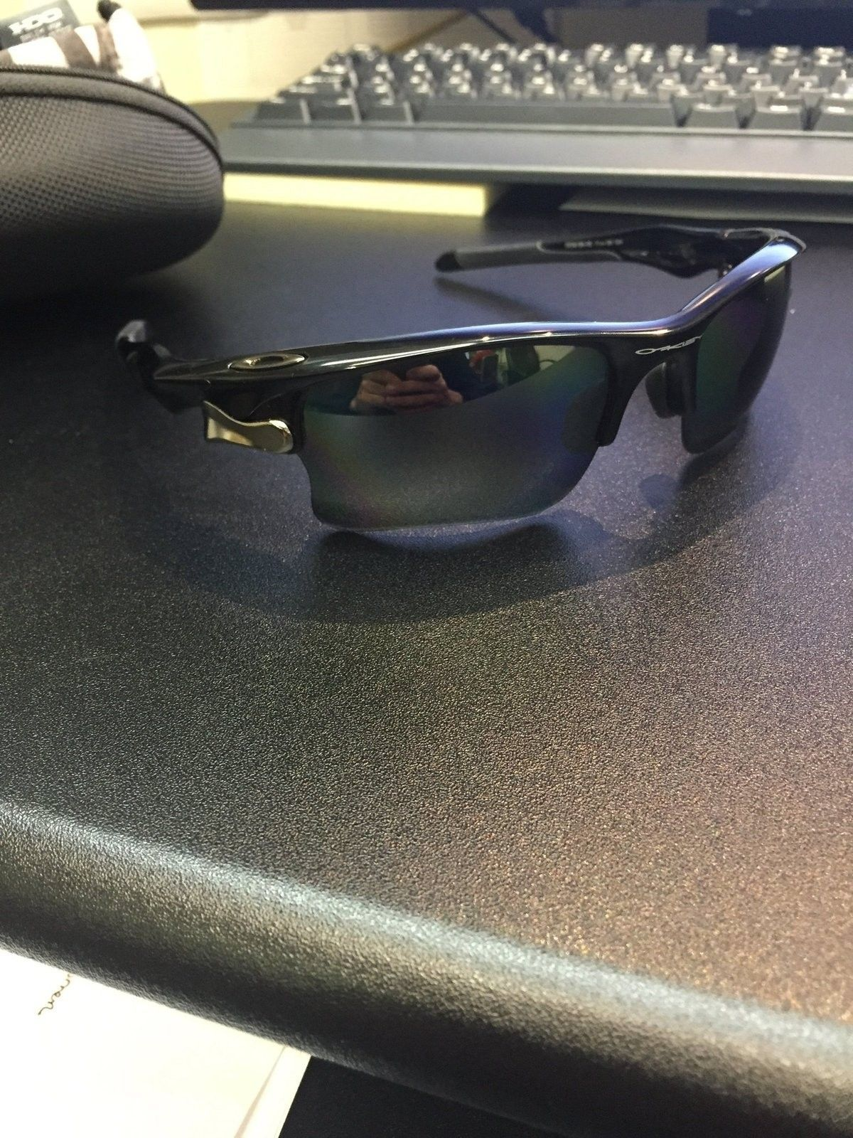 Fast Jacket Black/Black Iridium Polarized Price Drop - image.jpg