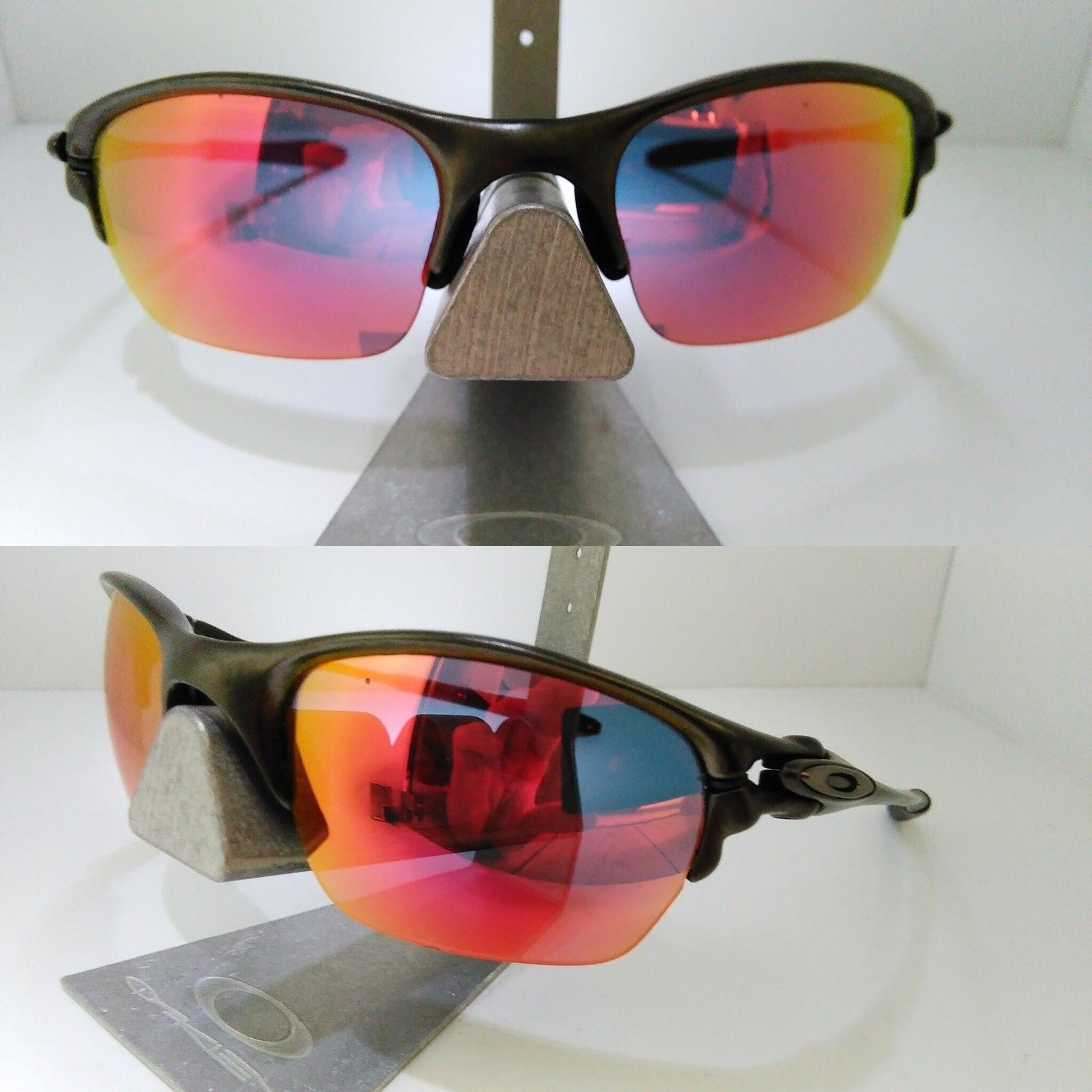 Half-X Carbon / BI + BNIB Ruby & Emerald lenses - PRICE DROP.. - image.jpg