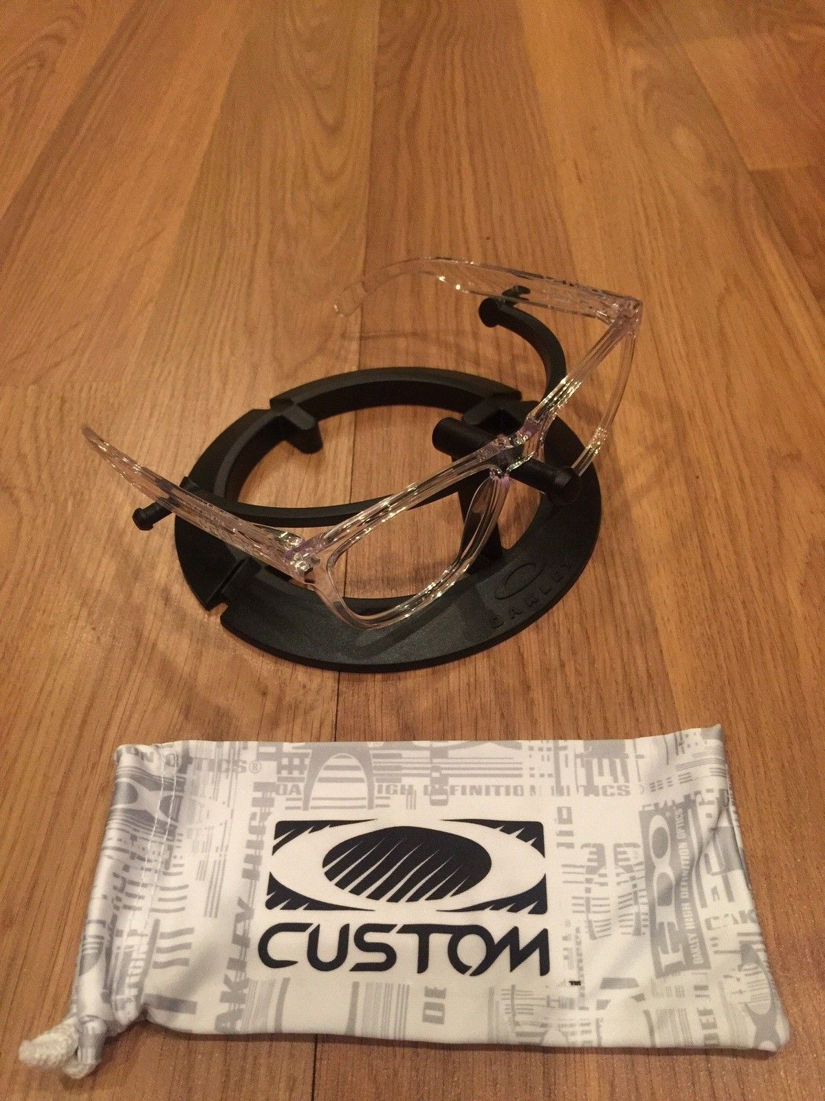 OCP clear frogskin frame $45 shipped - image.jpg