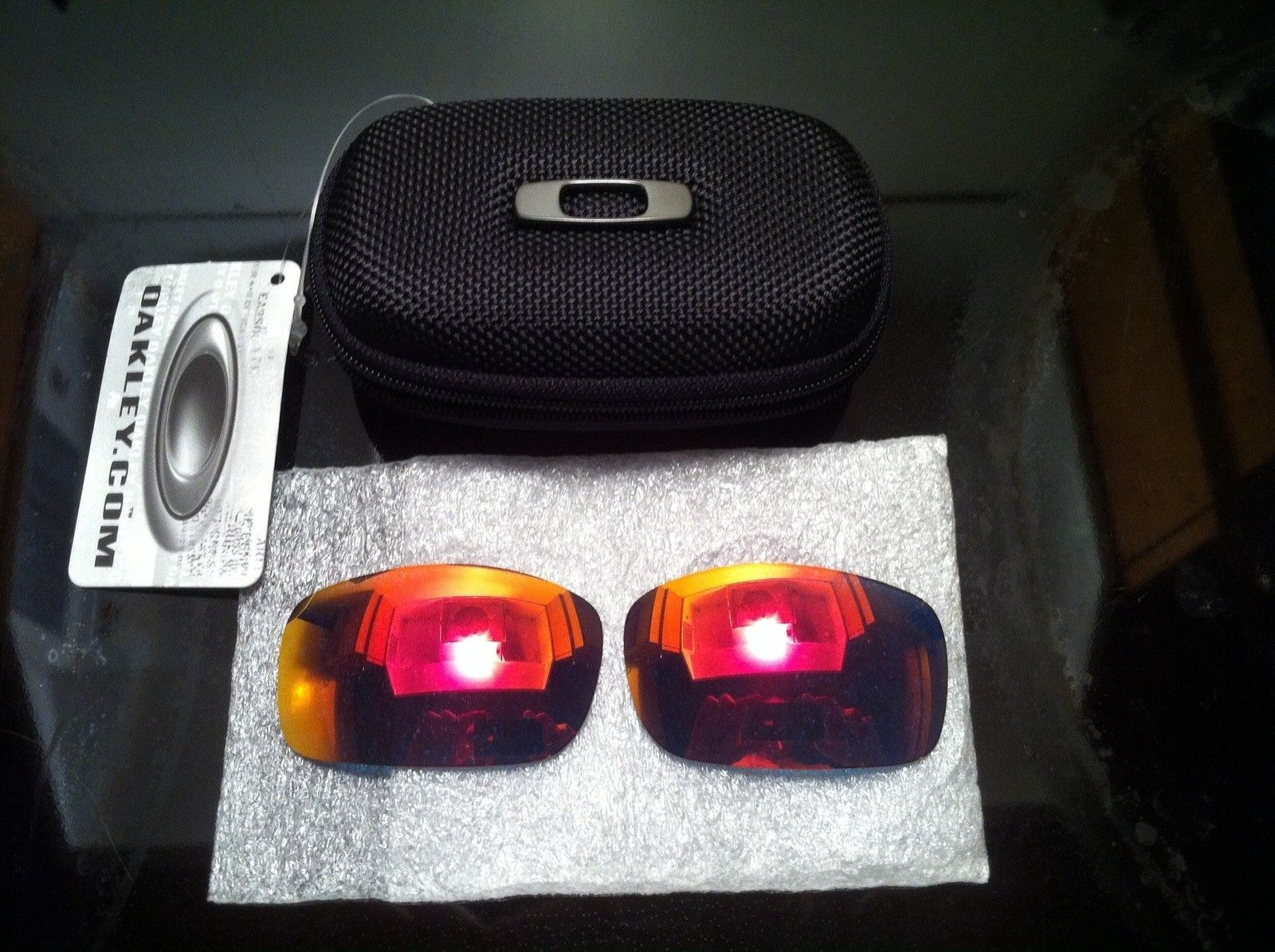 Custom Oakley X-Squared Polished w/ Ruby - image.jpg
