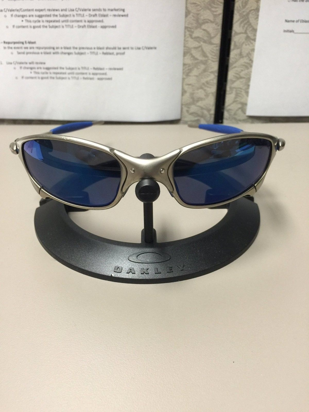 WTT Plasma Juliet w/Gray lenses and new rubbers for Polished Juliet frame only - image.jpg