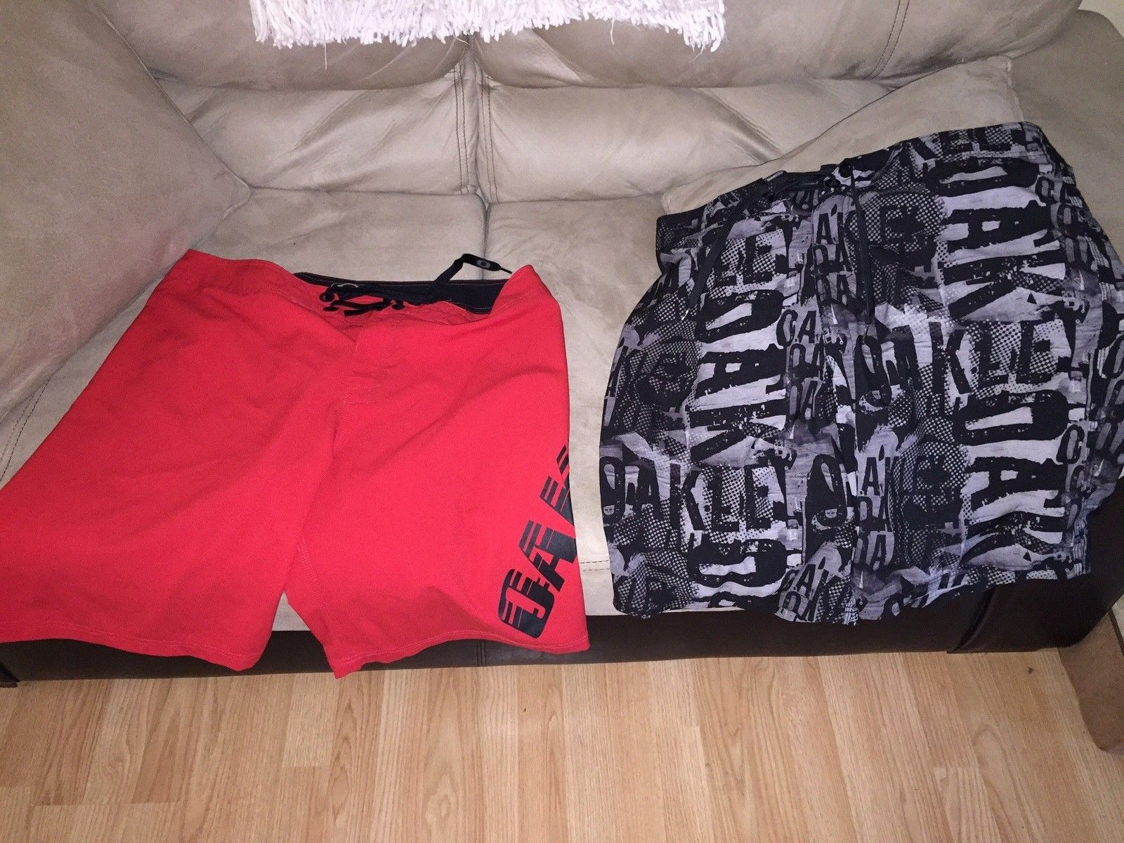 2 pair Oakley board shorts - image.jpg